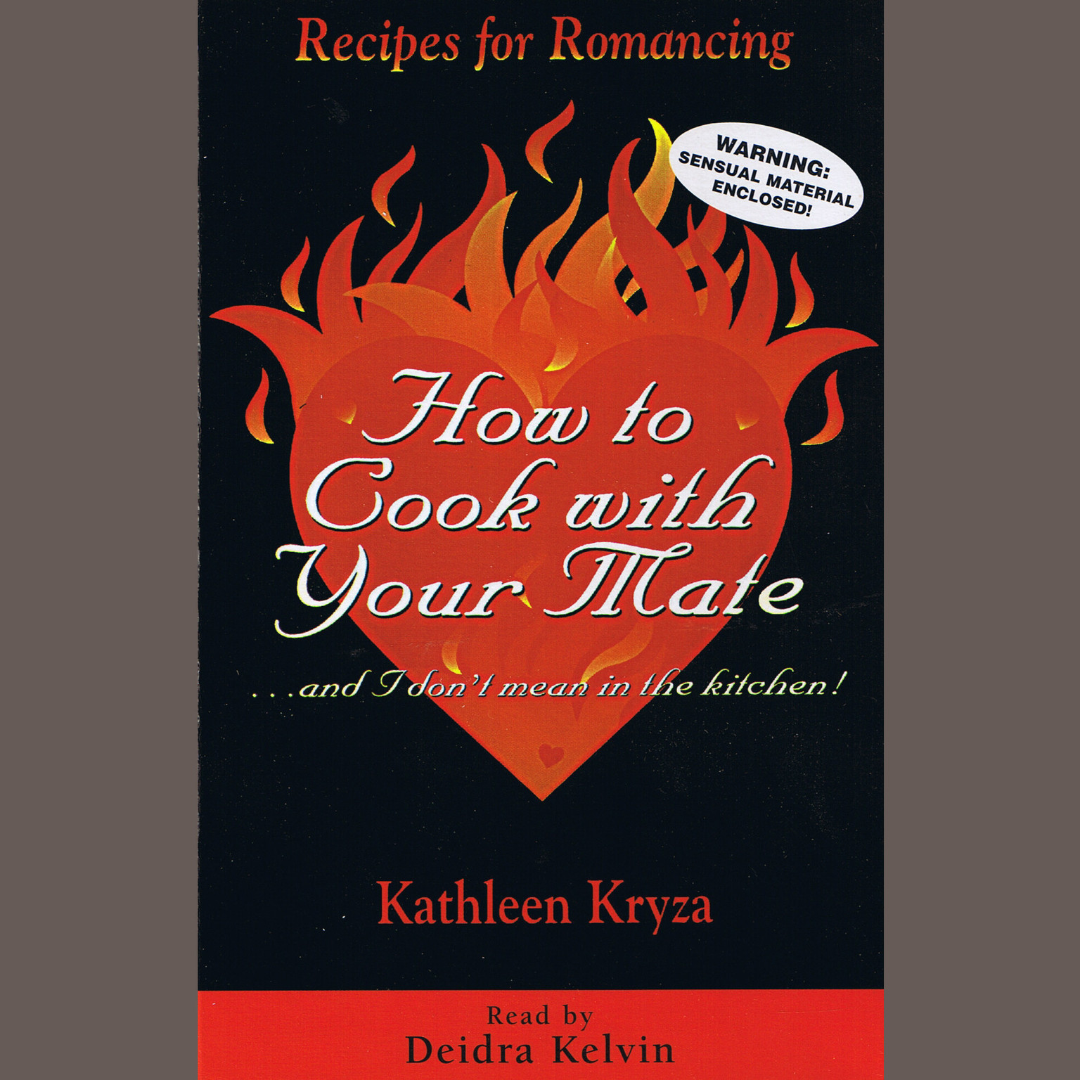 Printable How To Cook With Your Mate…And I Dont Mean In The Kitchen! Audiobook Cover Art