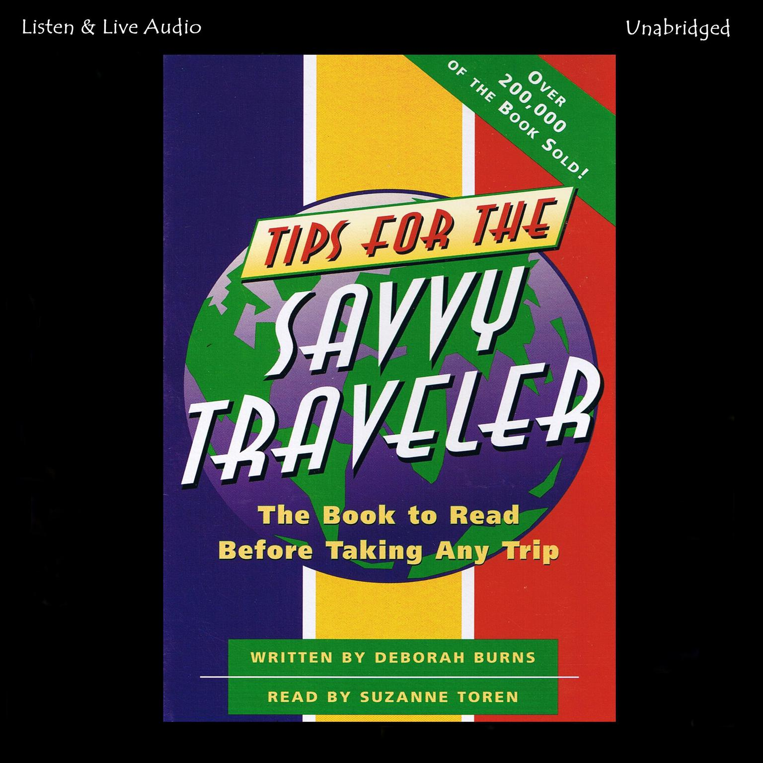 Printable Tips for the Savvy Traveler: The Book to Read before Taking Any Trip Audiobook Cover Art