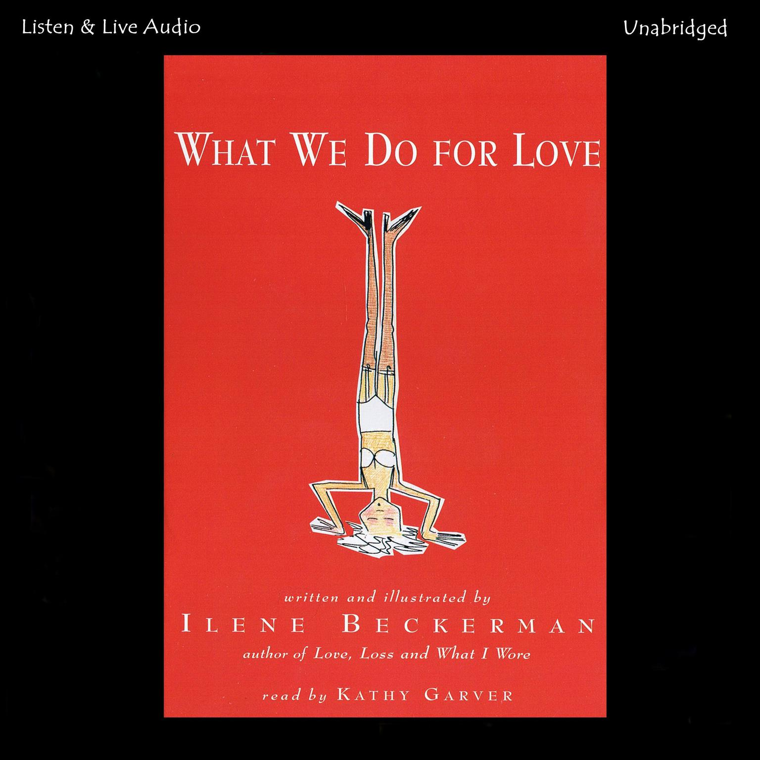 Printable What We Do for Love Audiobook Cover Art