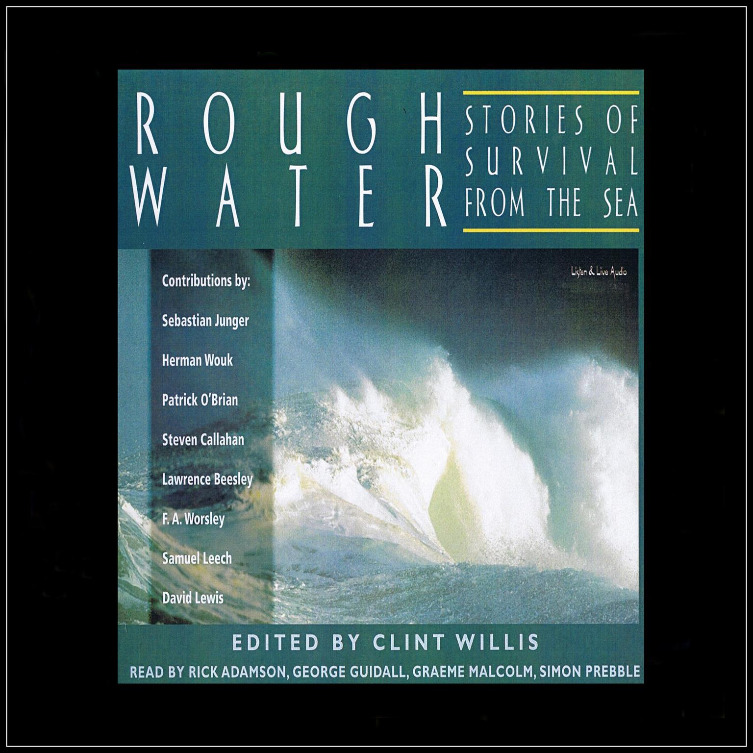 Printable Rough Water: Stories of Survival from the Sea Audiobook Cover Art