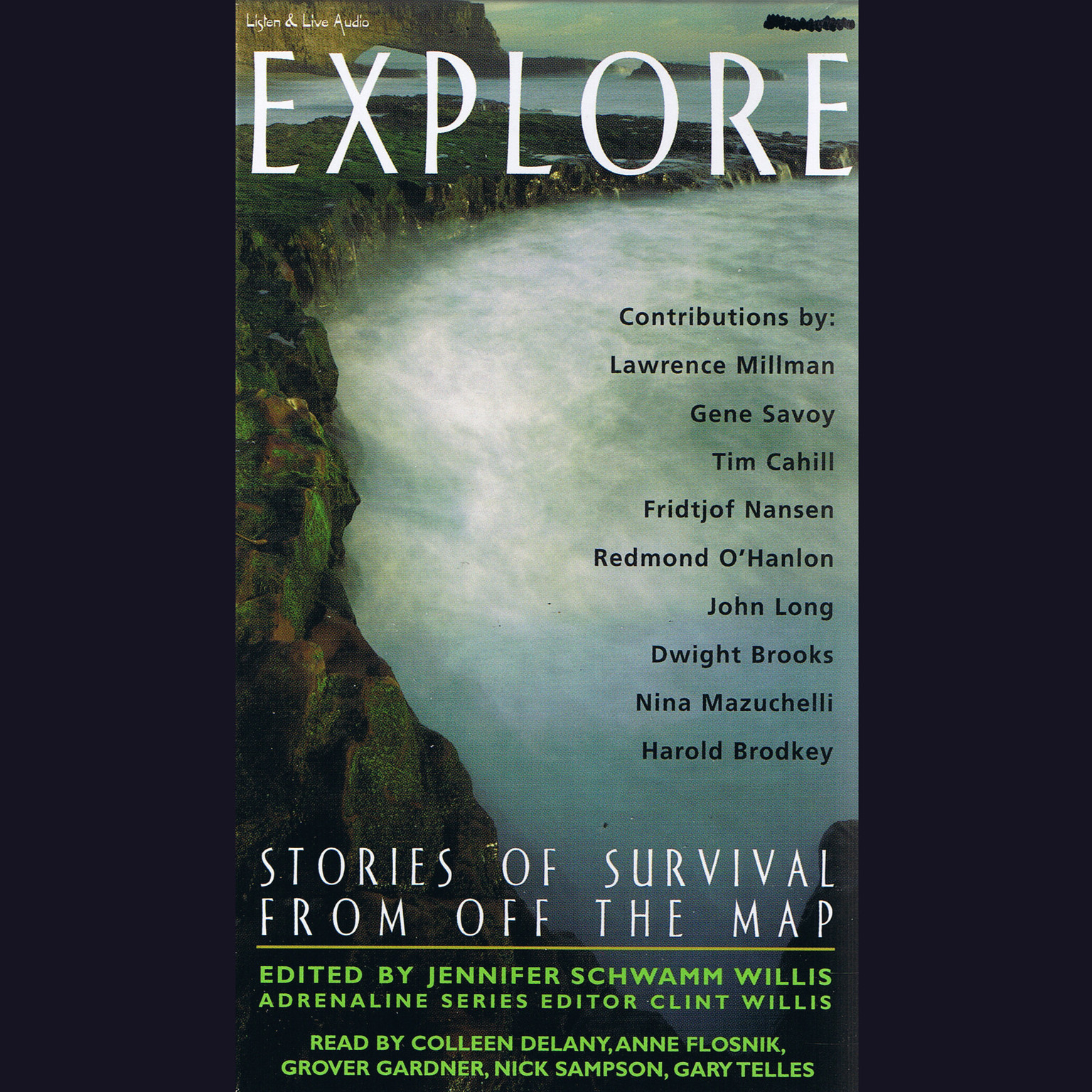 Printable Explore: Stories of Survival from off the Map Audiobook Cover Art
