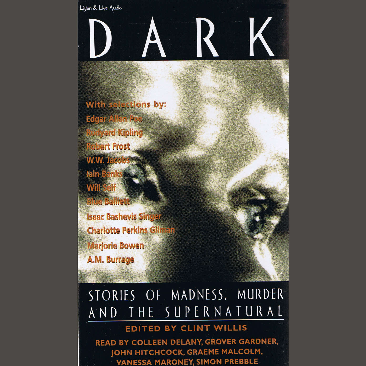 Printable Dark: Stories of Madness, Murder, and the Supernatural Audiobook Cover Art