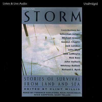 Storm: Stories of Survival from Land and Sea Audiobook, by various authors