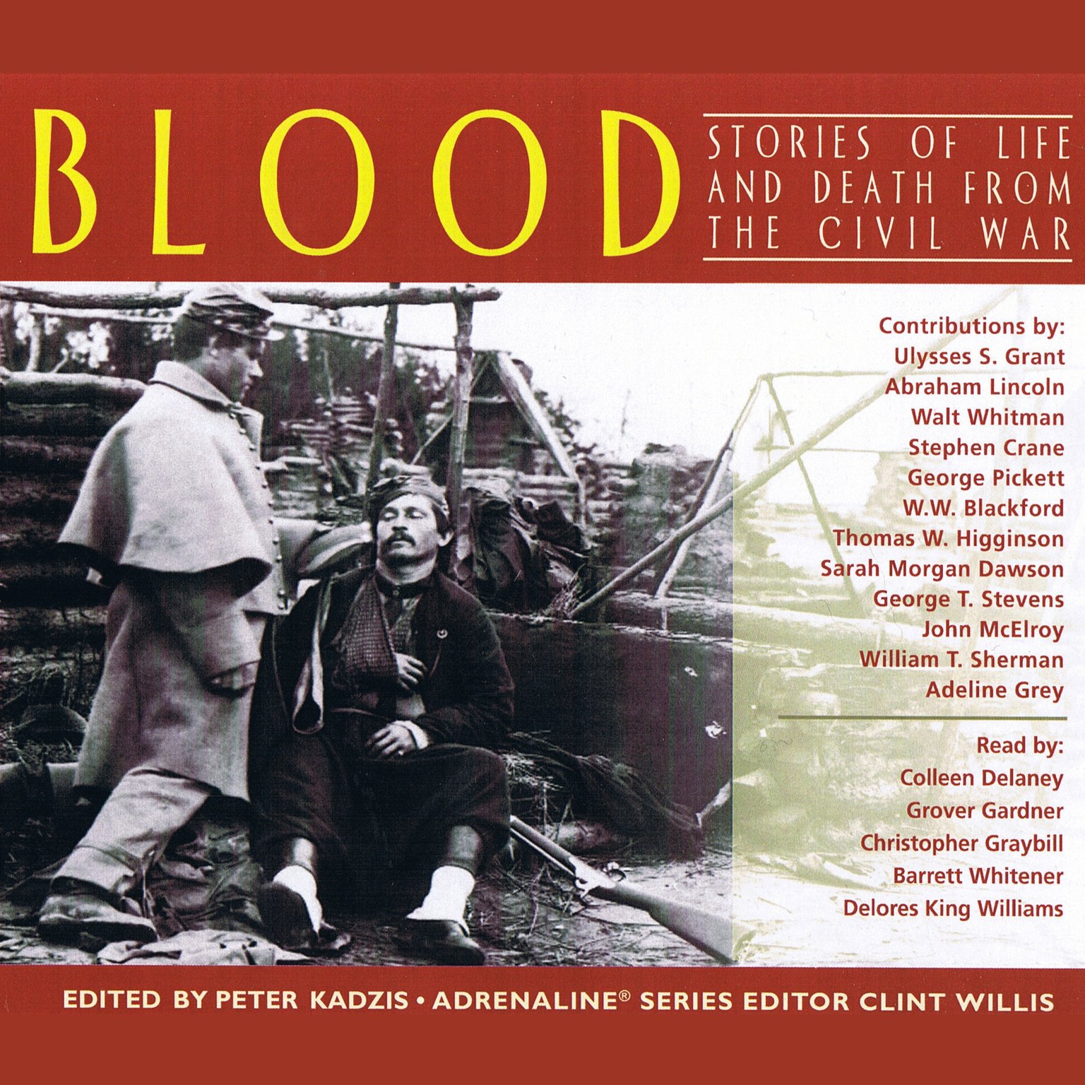 Printable Blood: Stories of Life and Death From The Civil War Audiobook Cover Art