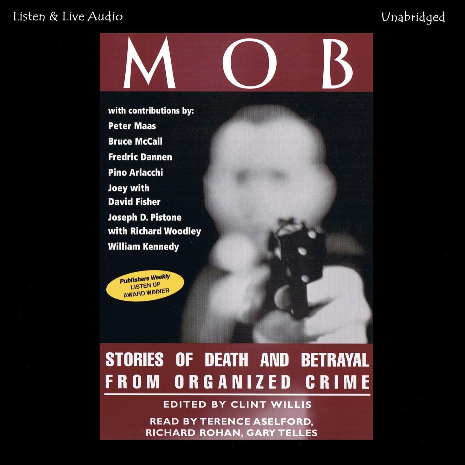 Printable Mob: Stories of Death and Betrayal from Organized Crime Audiobook Cover Art