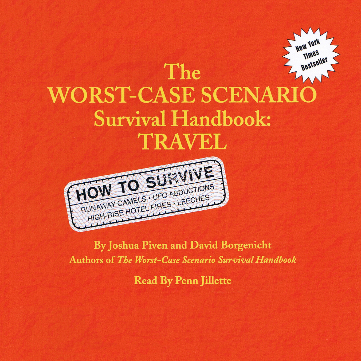 Printable The Worst-Case Scenario Survival Handbook: Travel Audiobook Cover Art