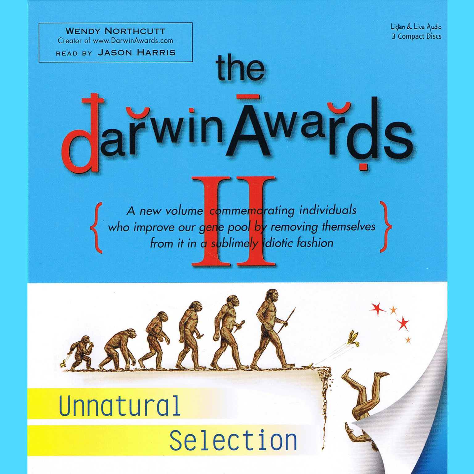 Printable The Darwin Awards II: Unnatural Selection Audiobook Cover Art