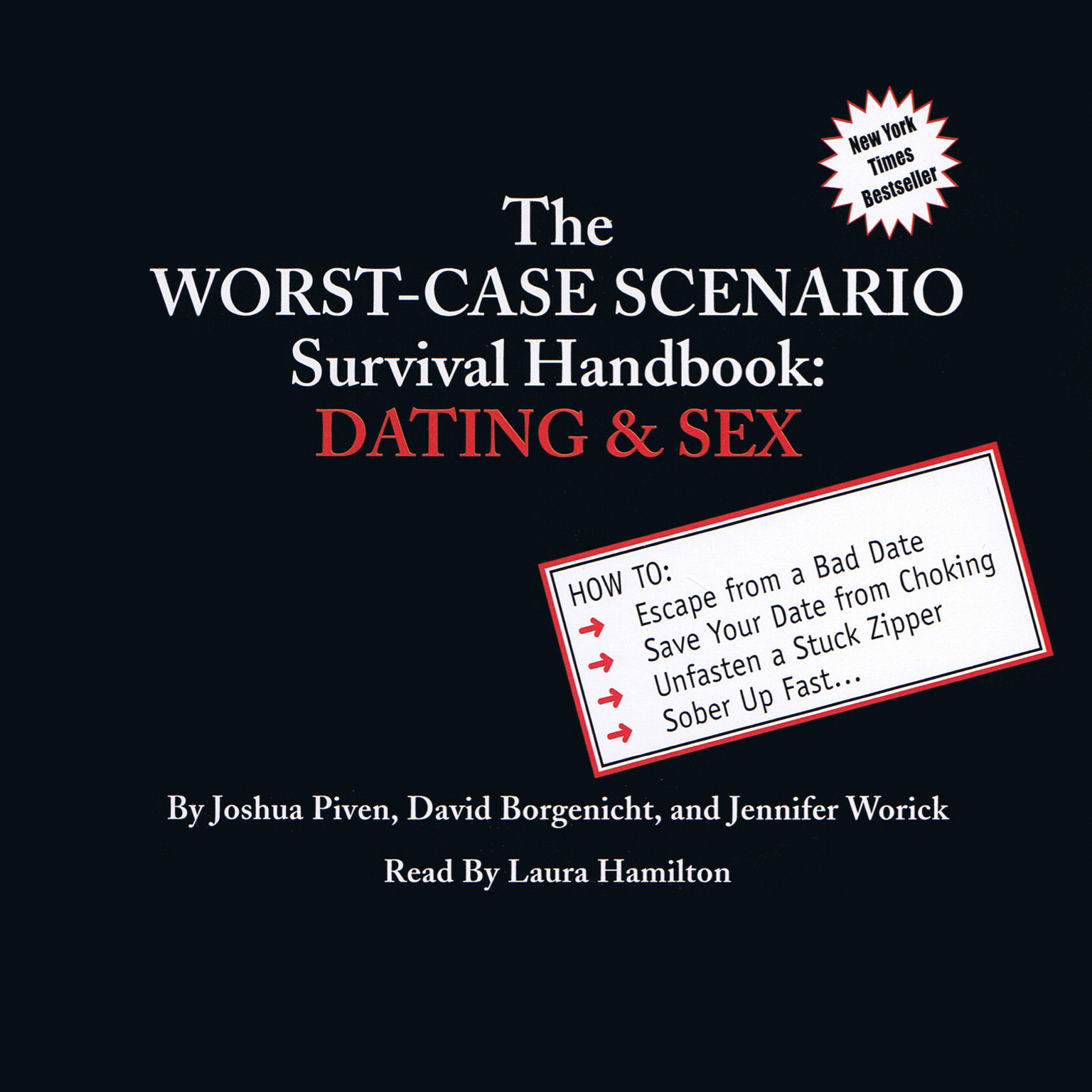 Printable The Worst-Case Scenario Survival Handbook: Dating & Sex Audiobook Cover Art