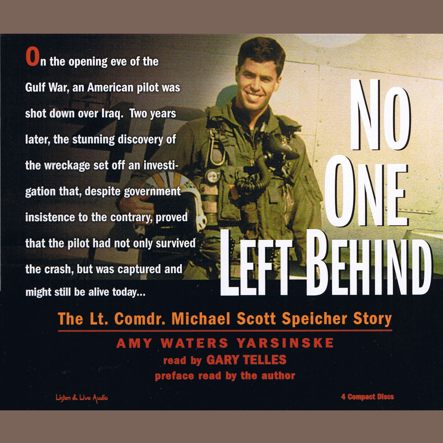 Printable No One Left Behind Audiobook Cover Art
