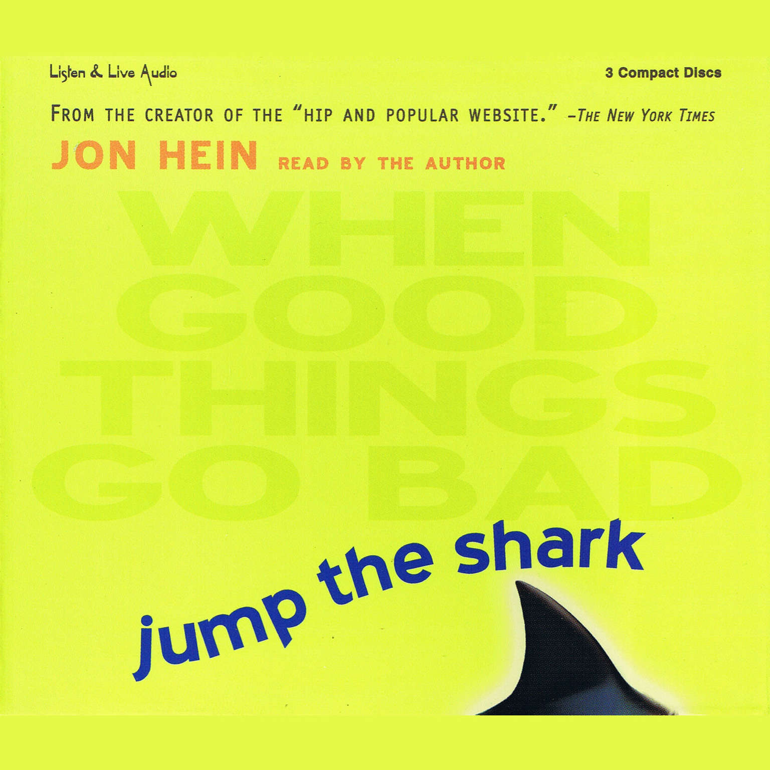 Printable Jump the Shark: When Good Things Go Bad Audiobook Cover Art
