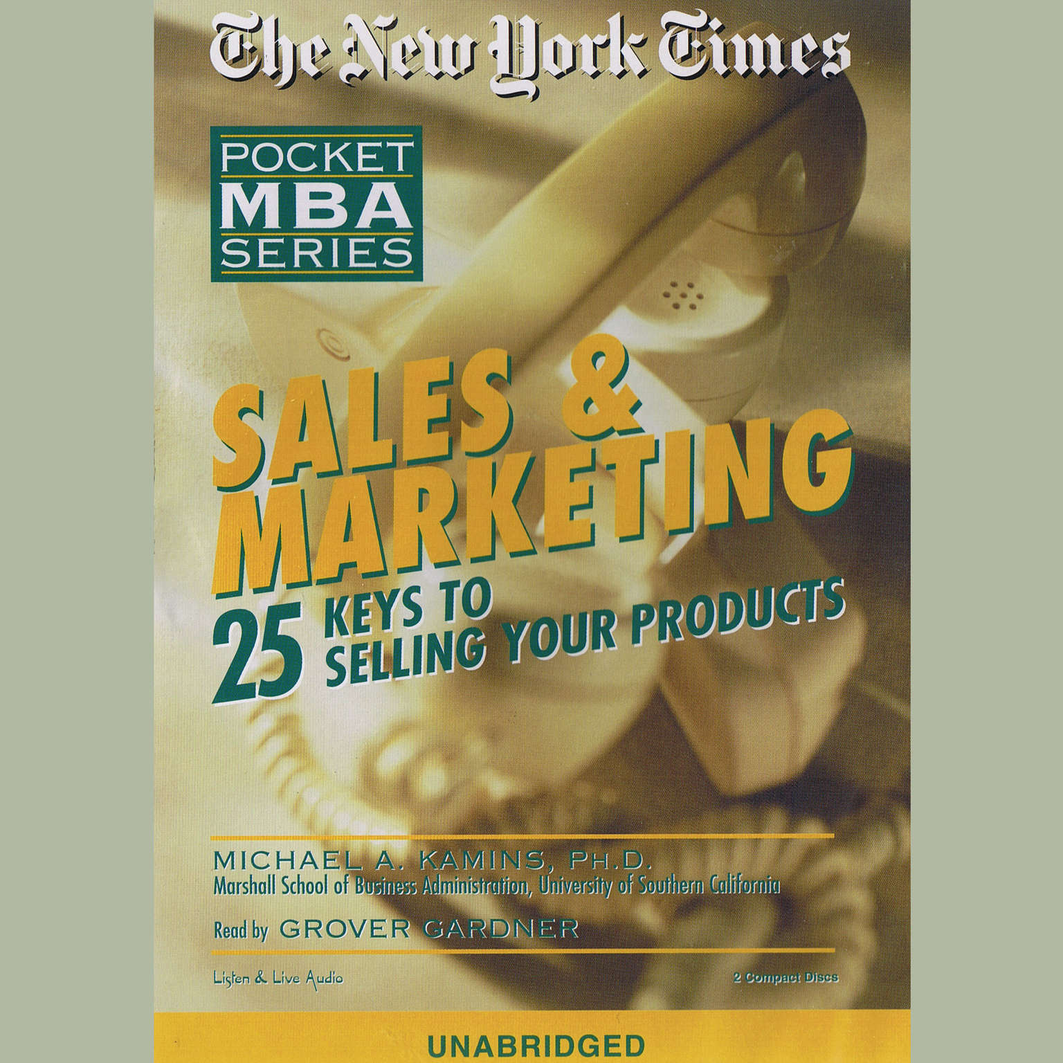 Printable Sales & Marketing: Twenty-five Keys to Selling Your Products Audiobook Cover Art