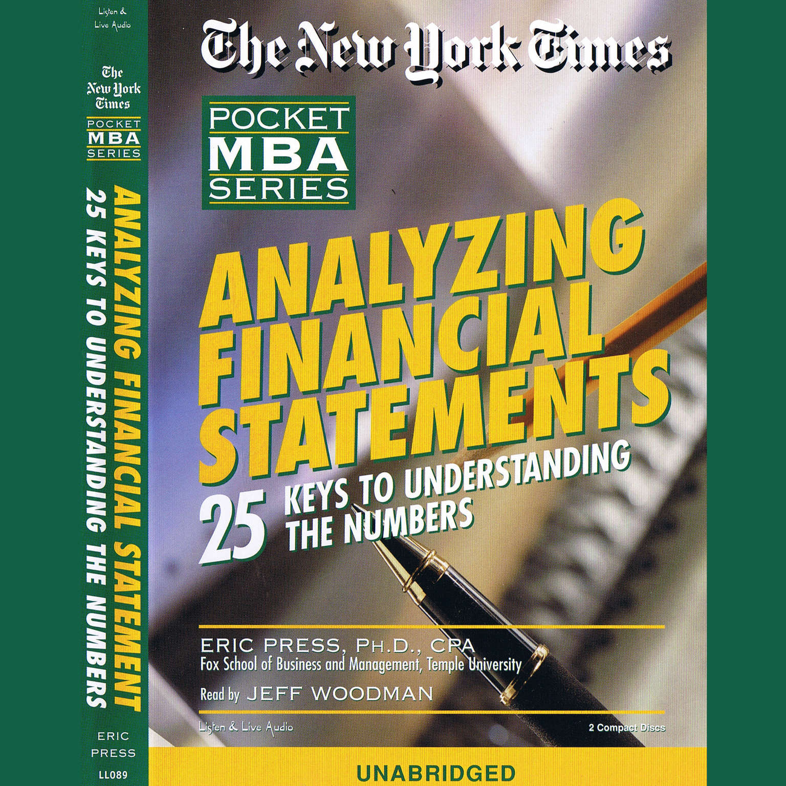 Printable Analyzing Financial Statements: 25 Keys to Understanding the Numbers Audiobook Cover Art