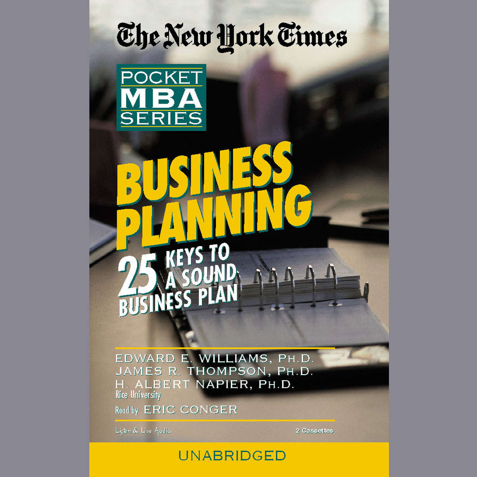 Printable Business Planning Audiobook Cover Art
