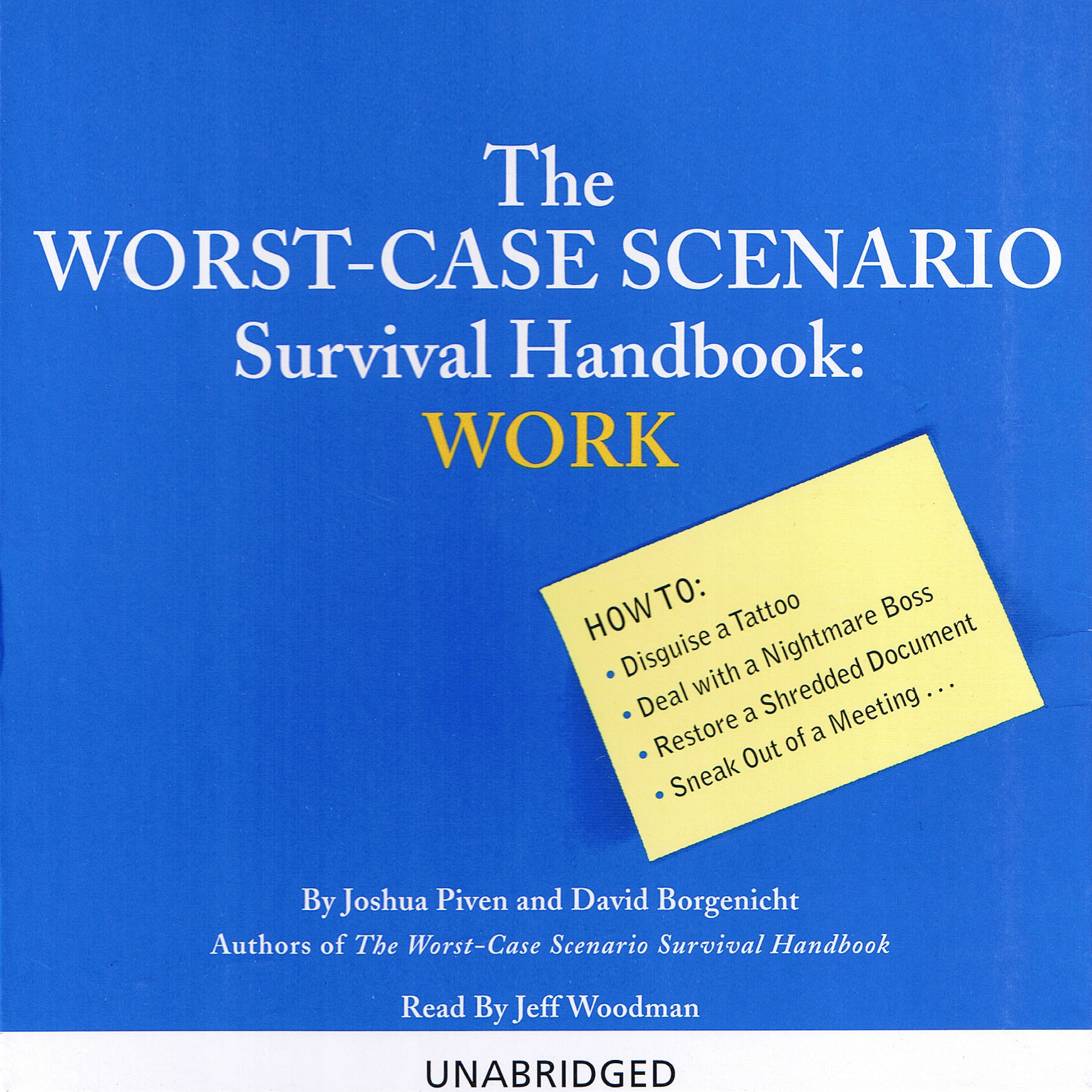 Printable The Worst-Case Scenario Survival Handbook: Work Audiobook Cover Art
