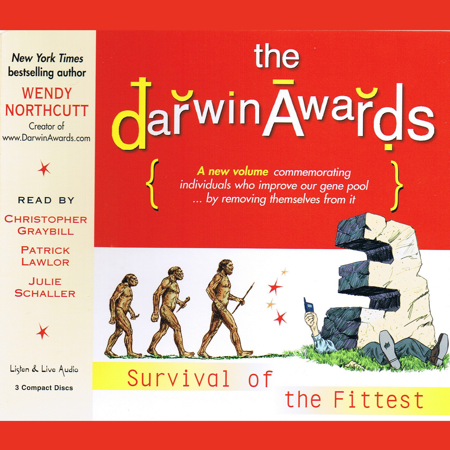 Printable The Darwin Awards III: Survival of the Fittest Audiobook Cover Art