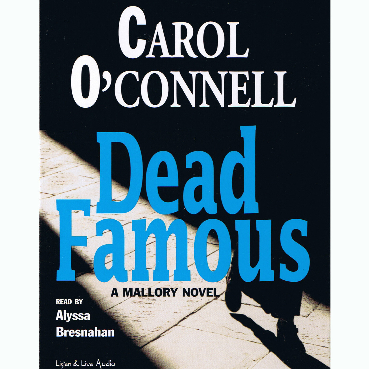 Printable Dead Famous Audiobook Cover Art