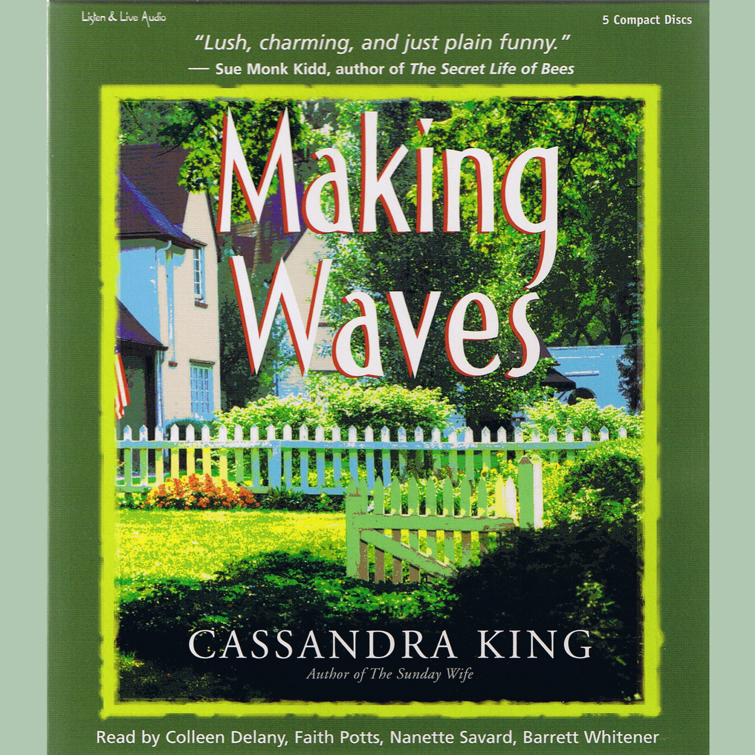 Printable Making Waves Audiobook Cover Art
