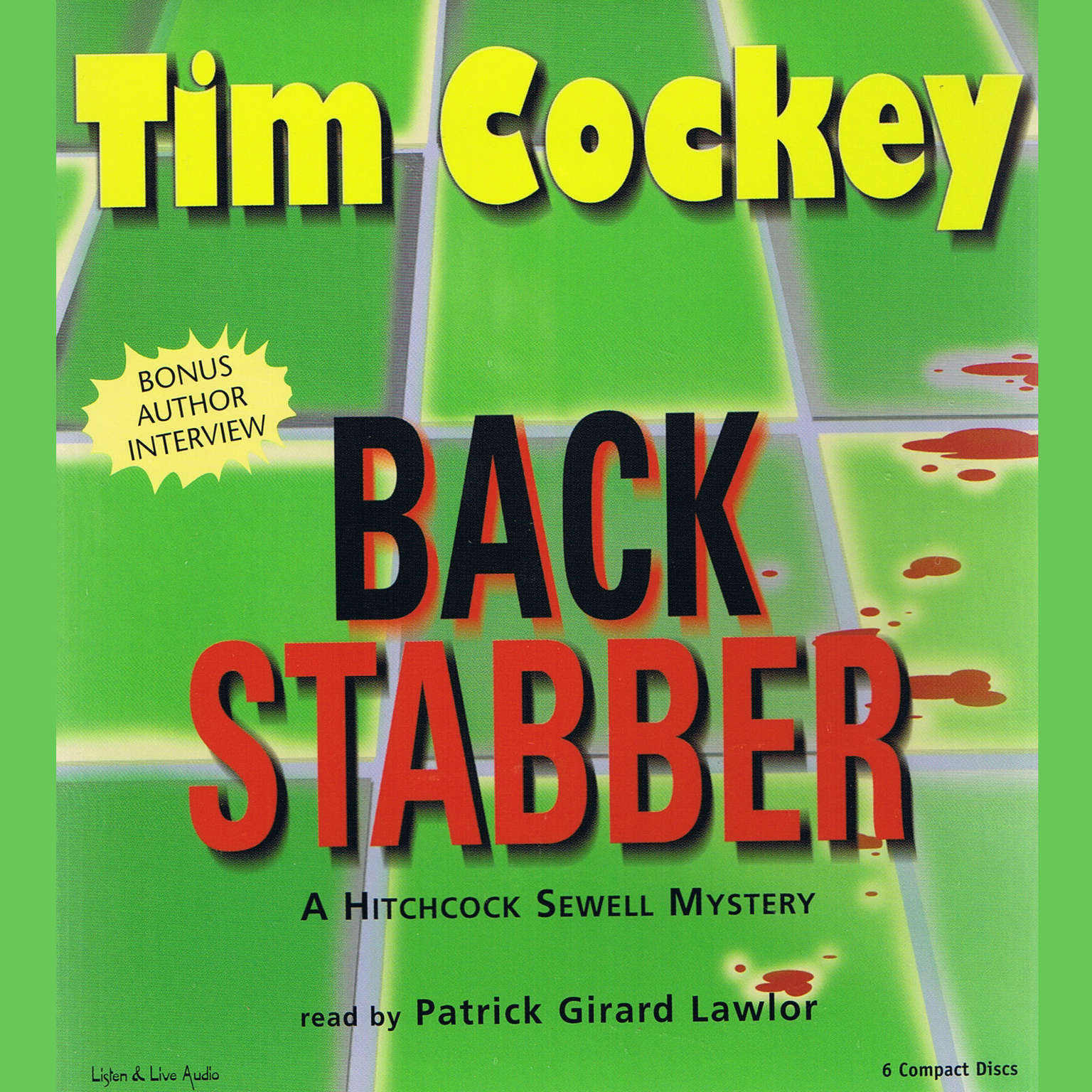 Printable Backstabber: A Hitchcock Sewell Mystery Audiobook Cover Art