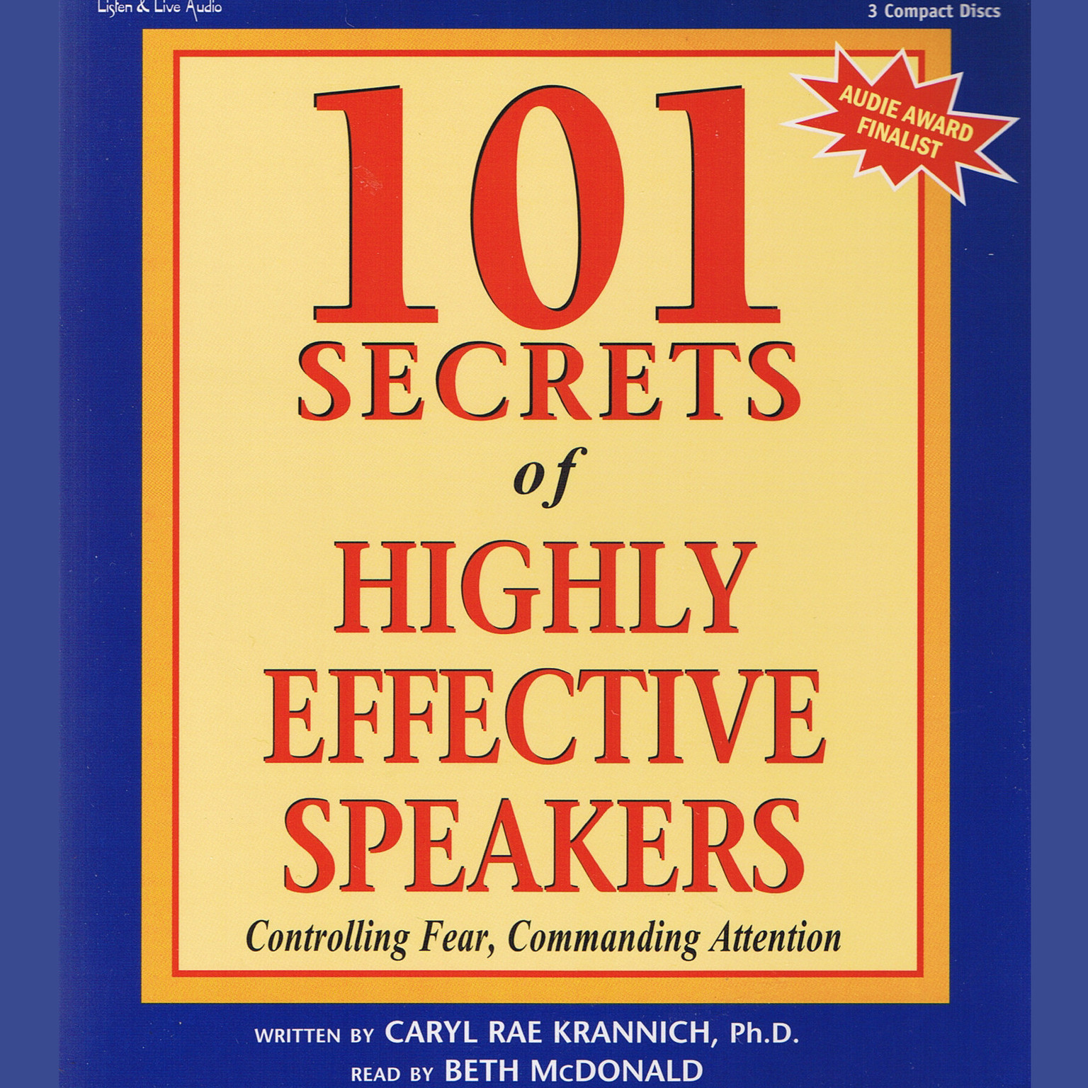 Printable 101 Secrets of Highly Effective Speakers Audiobook Cover Art