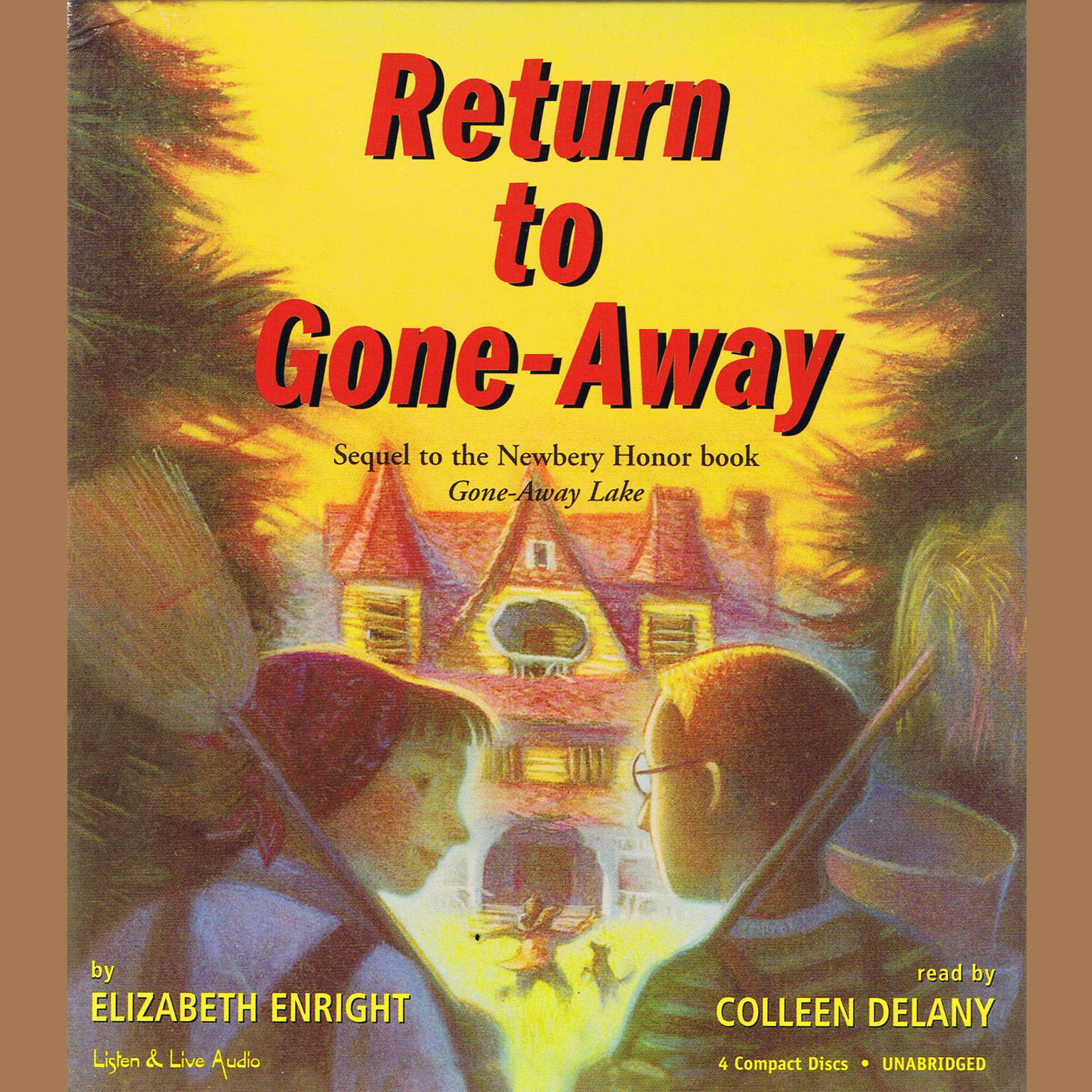 Printable Return To Gone-Away Audiobook Cover Art