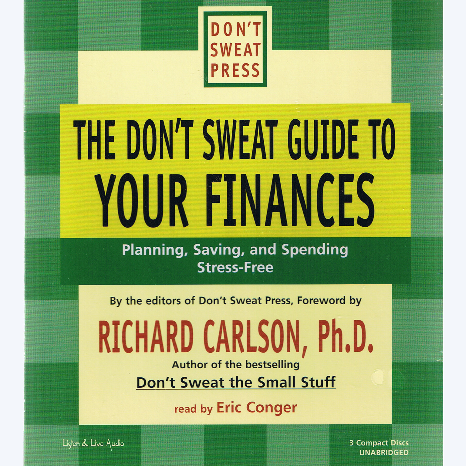 Printable The Don't Sweat Guide To Your Finances: Planning, Saving, and Spending Stress-Free Audiobook Cover Art