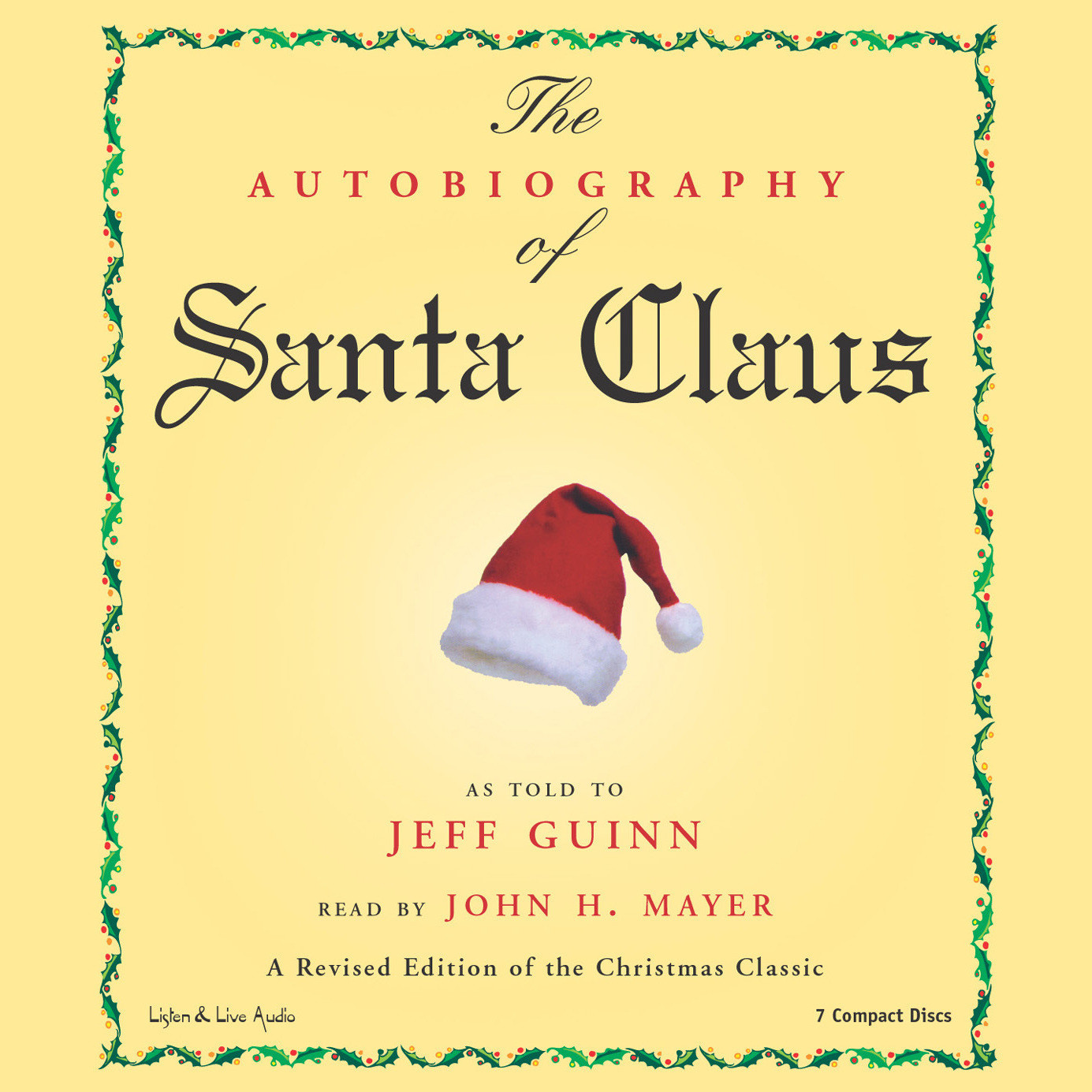Printable The Autobiography of Santa Claus Audiobook Cover Art