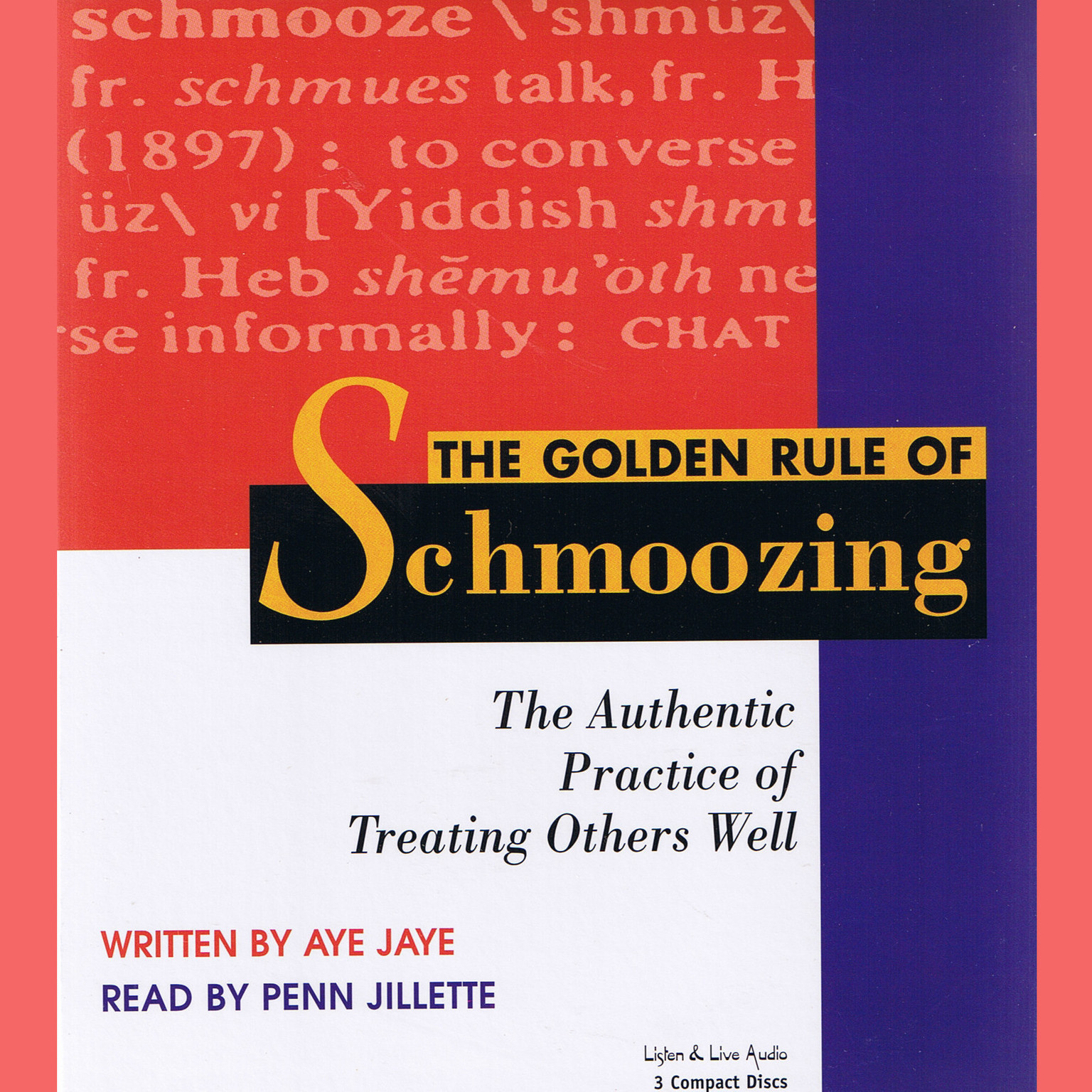photograph relating to Golden Rule Printable titled The Golden Rule of Schmoozing: The Legitimate Coach of Dealing with Other individuals Nicely Audiobook