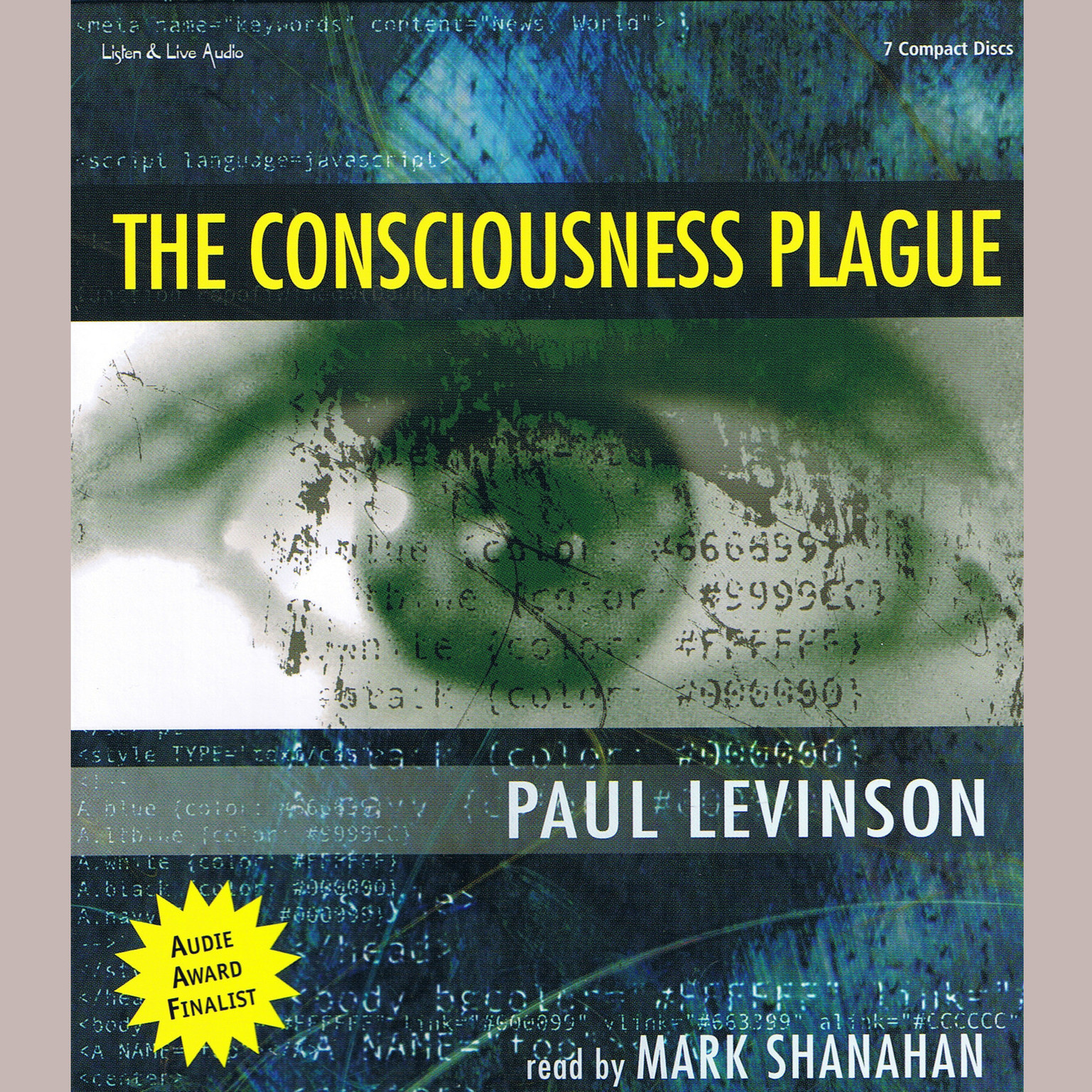 Printable The Consciousness Plague Audiobook Cover Art