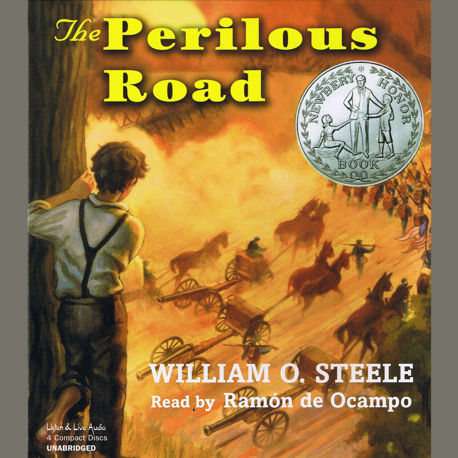Printable The Perilous Road Audiobook Cover Art