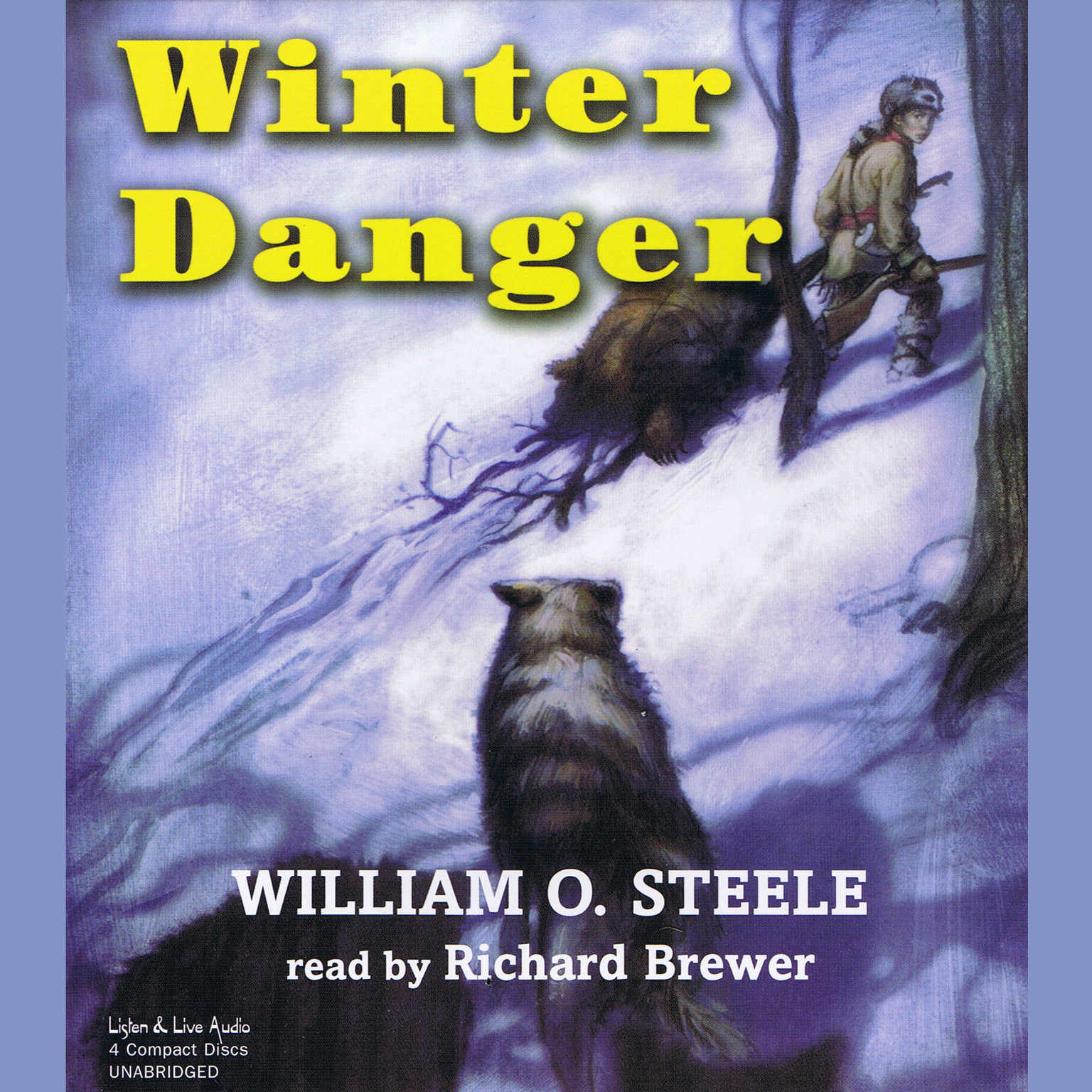 Printable Winter Danger Audiobook Cover Art