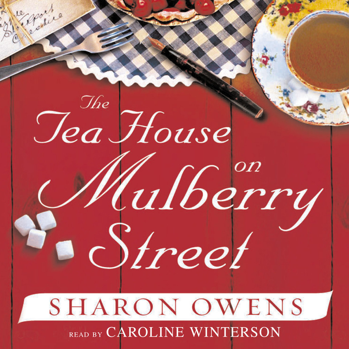 Printable The Tea House on Mulberry Street Audiobook Cover Art