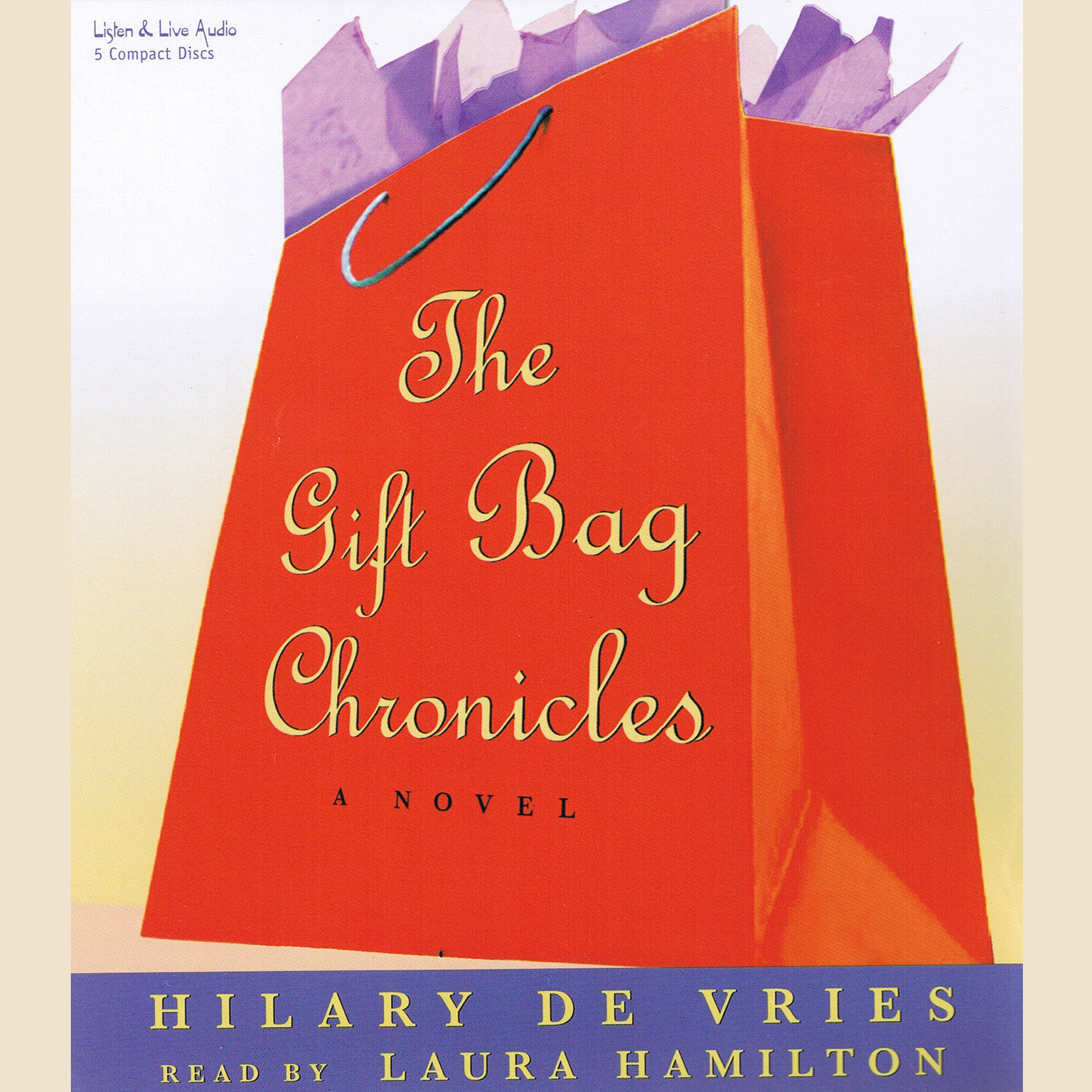 Printable The Gift Bag Chronicles Audiobook Cover Art