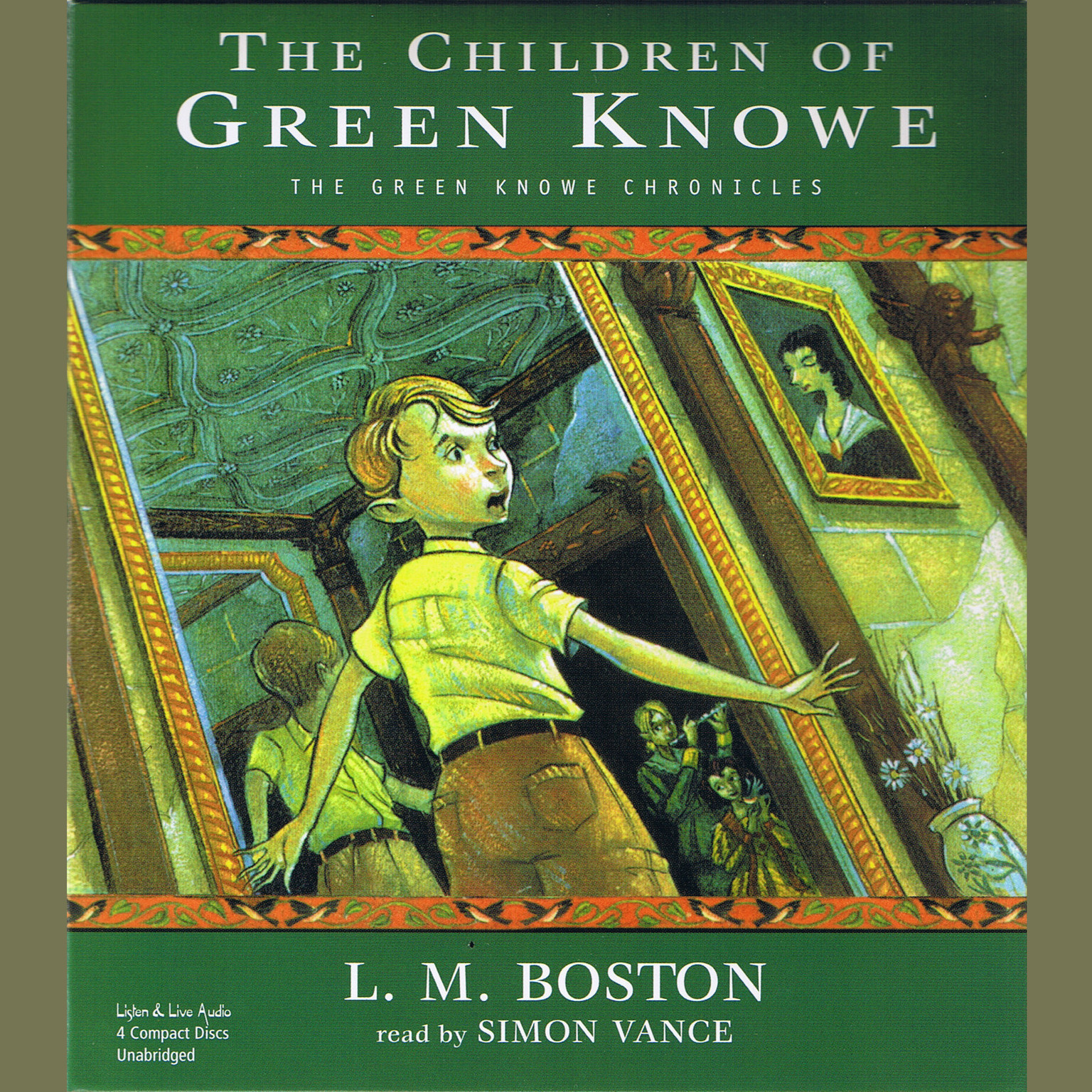 Printable The Children of Green Knowe Audiobook Cover Art