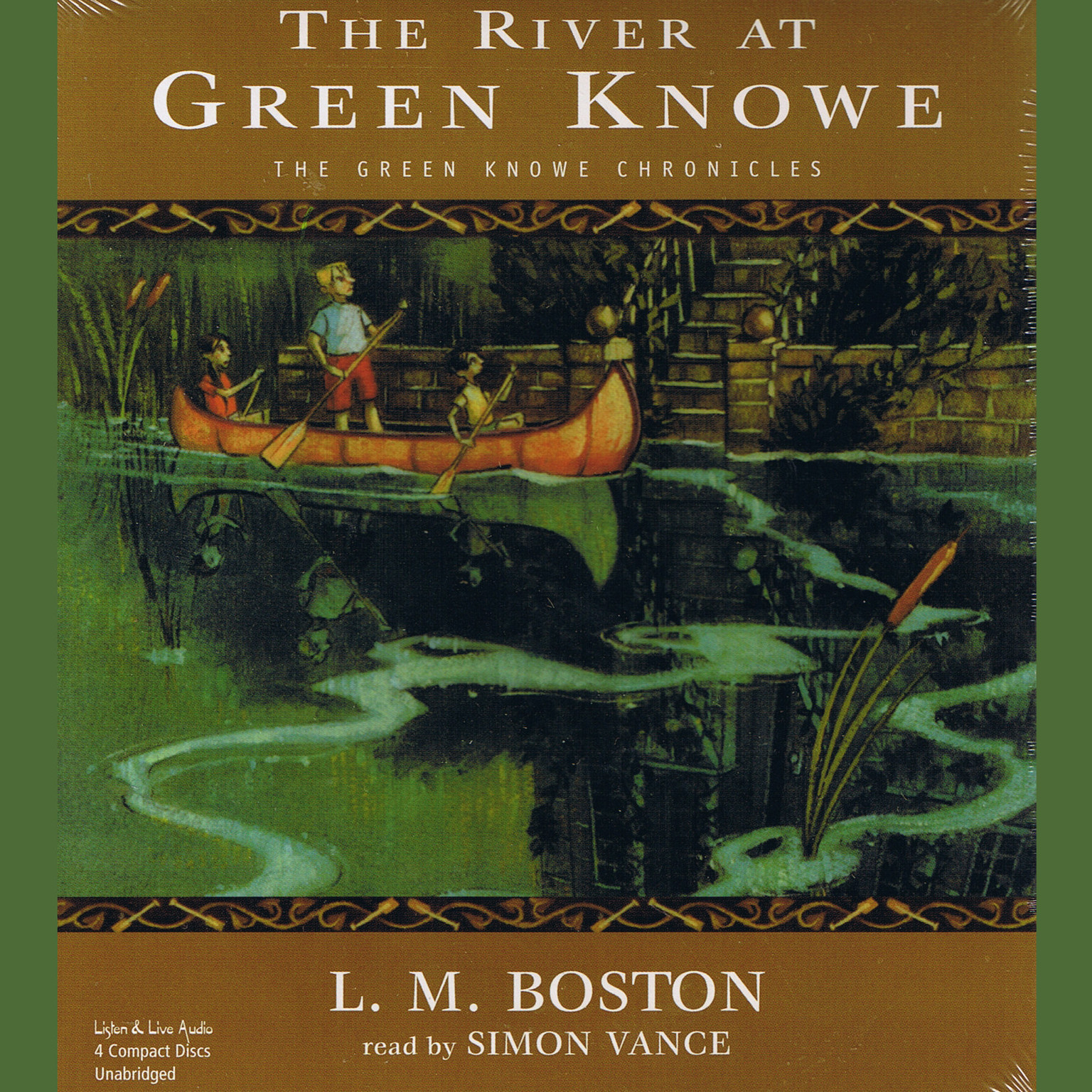 Printable The River at Green Knowe Audiobook Cover Art
