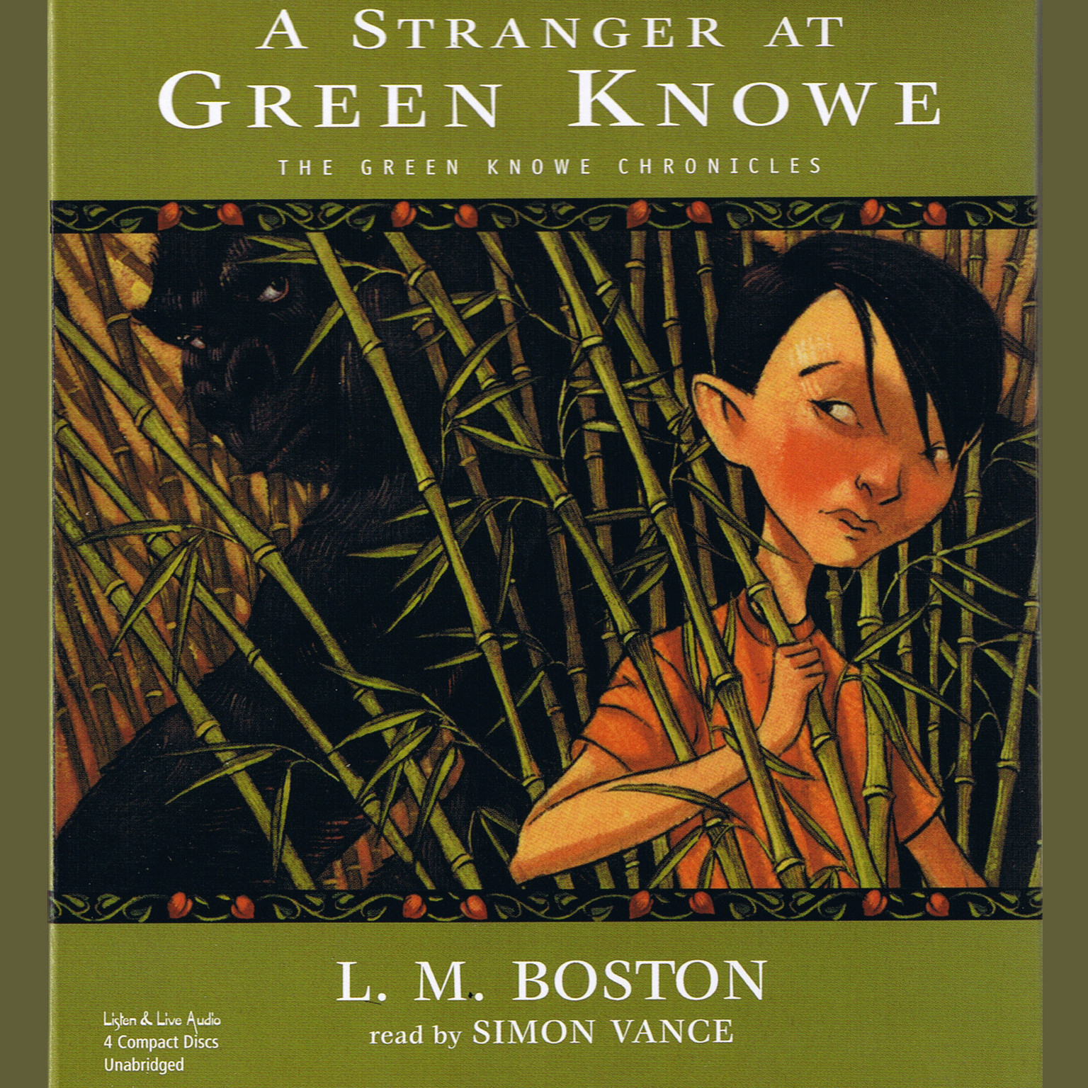 Printable A Stranger at Green Knowe Audiobook Cover Art