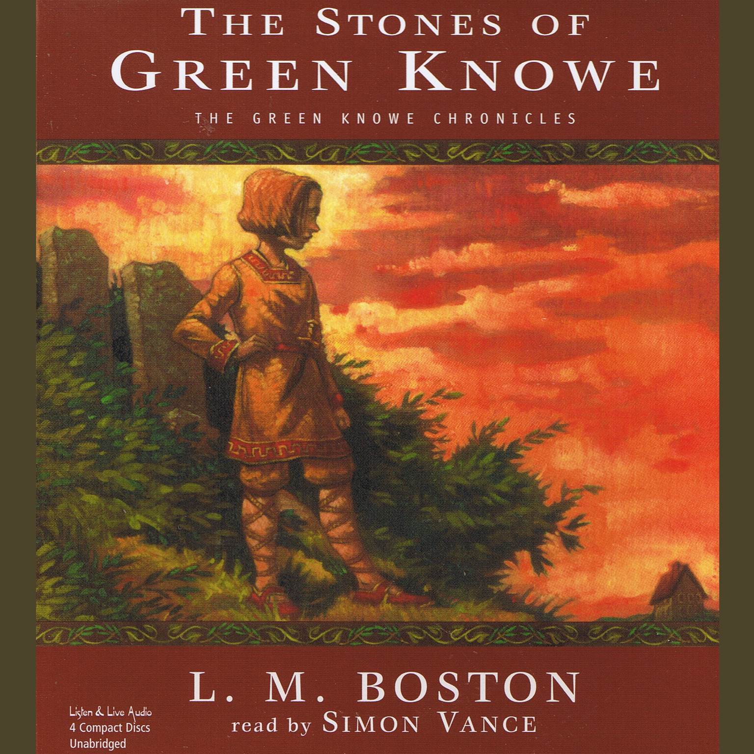 Printable The Stones of Green Knowe Audiobook Cover Art