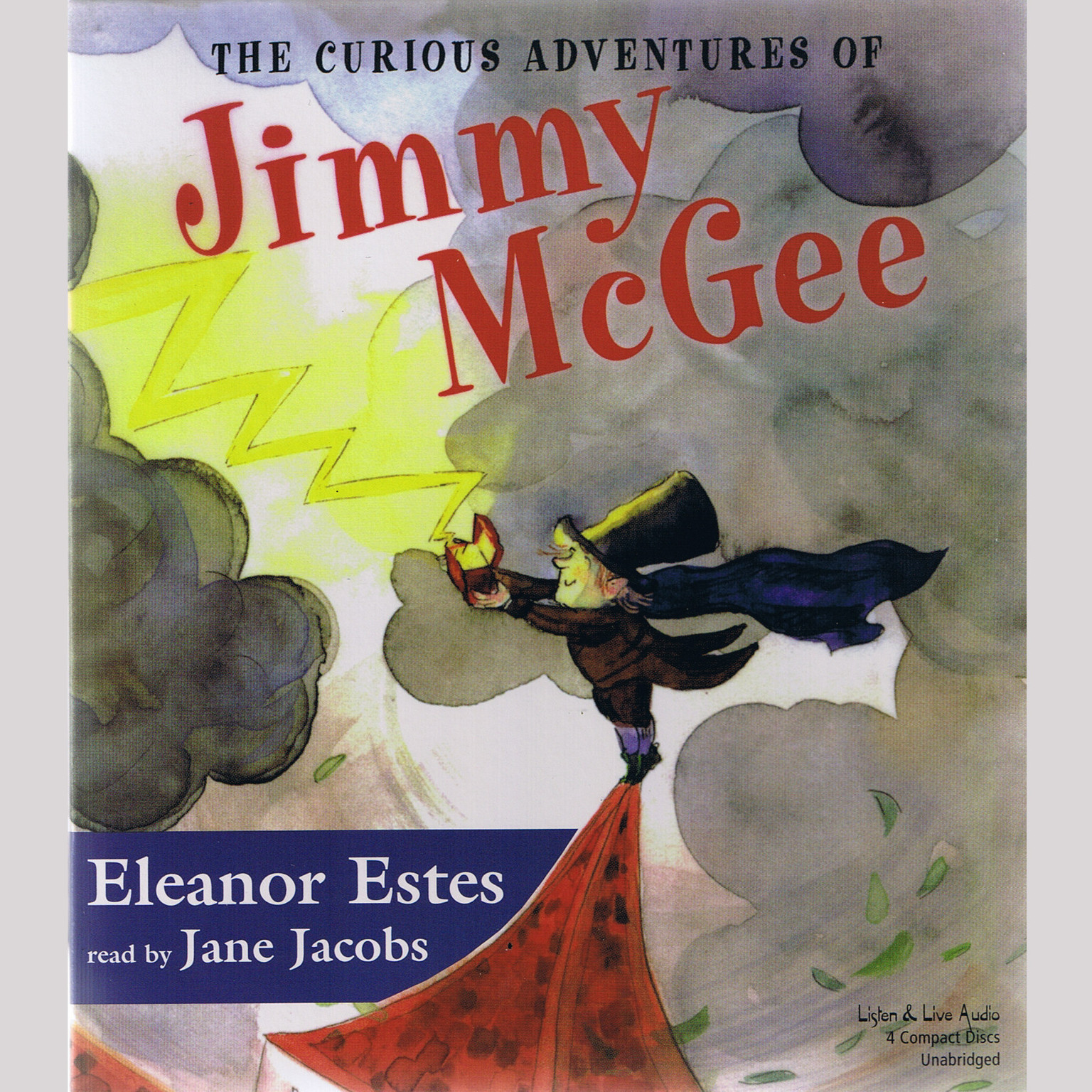Printable The Curious Adventures of Jimmy McGee Audiobook Cover Art