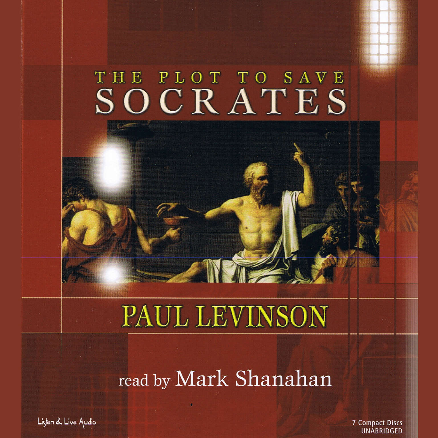 Printable The Plot to Save Socrates Audiobook Cover Art