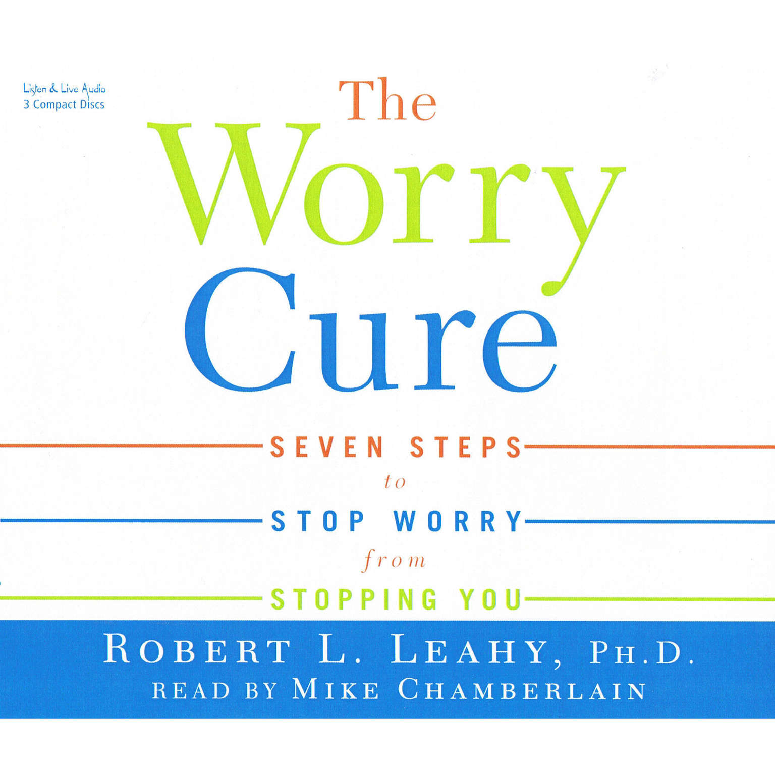 Printable The Worry Cure Audiobook Cover Art
