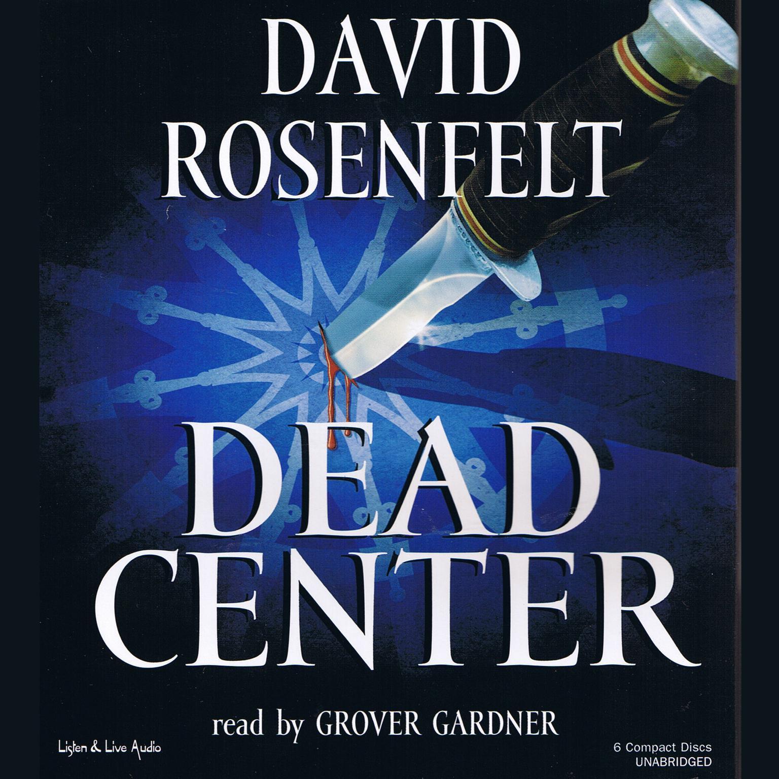 Printable Dead Center Audiobook Cover Art