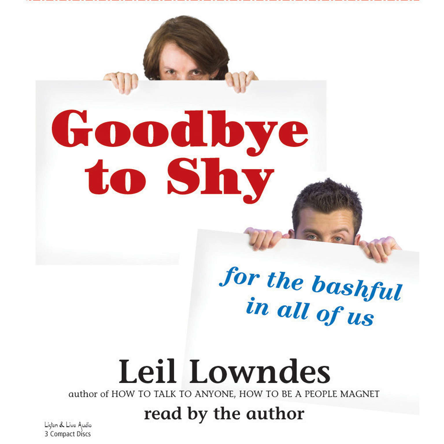 Printable Goodbye to Shy: For the Bashful in All of Us Audiobook Cover Art
