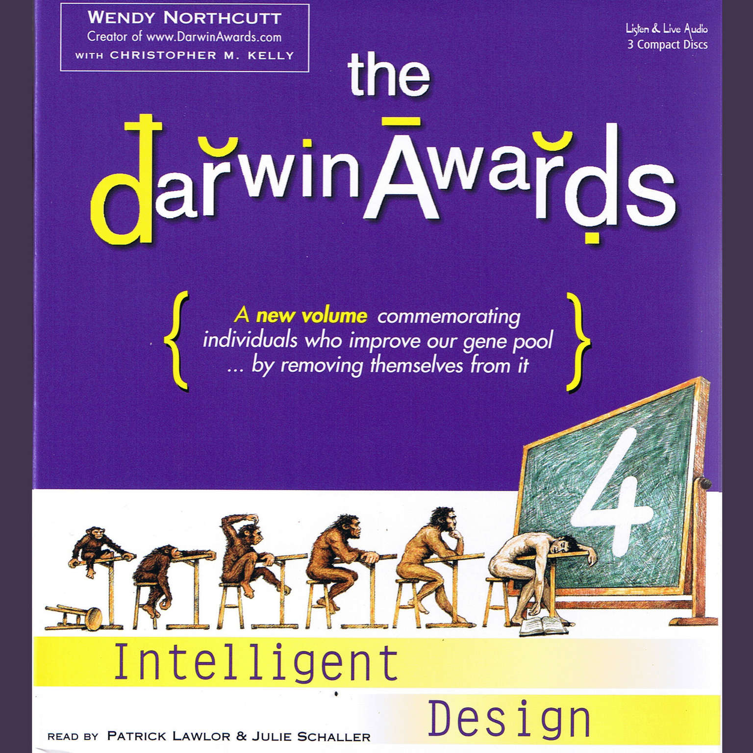 Printable The Darwin Awards 4: Intelligent Design Audiobook Cover Art