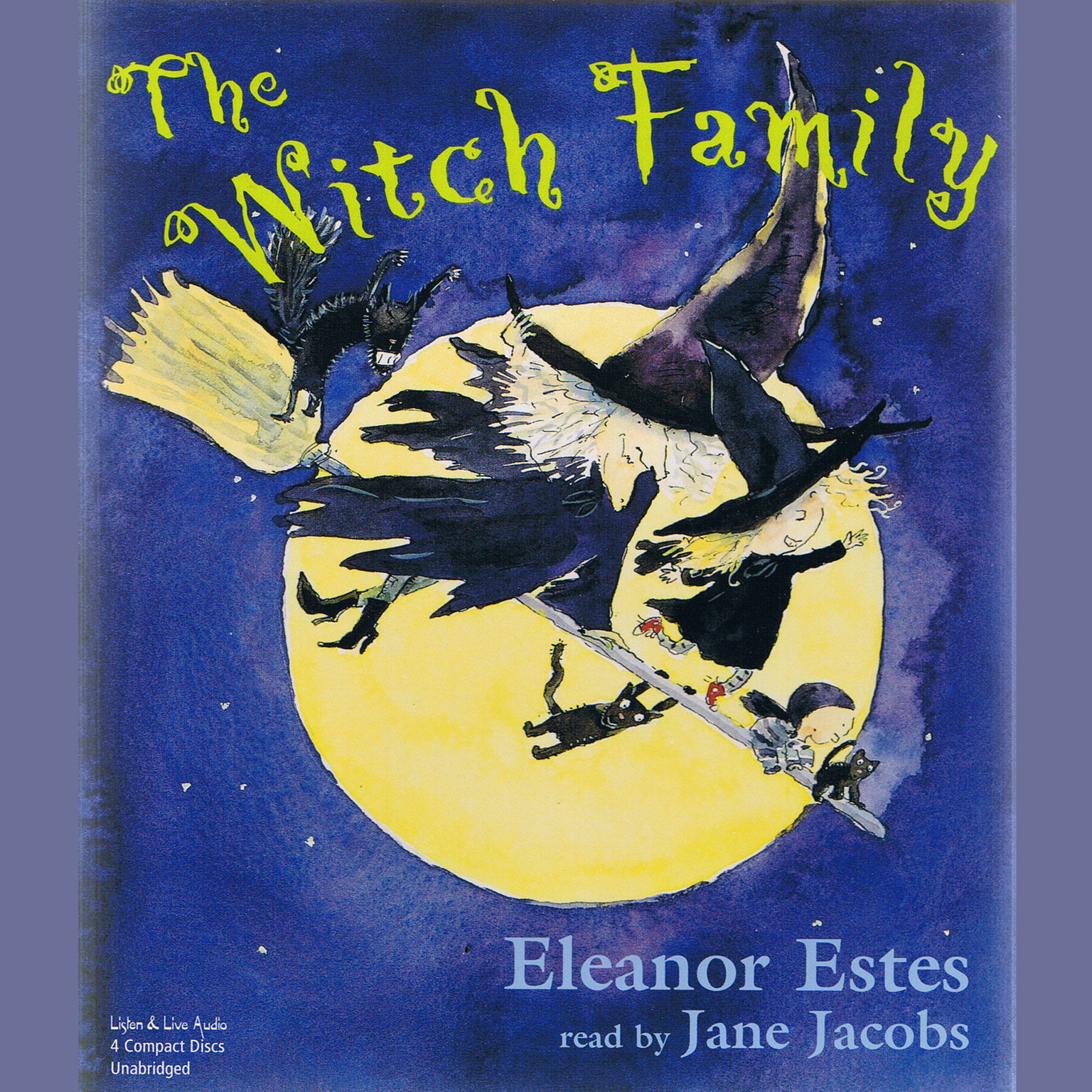 Printable The Witch Family Audiobook Cover Art