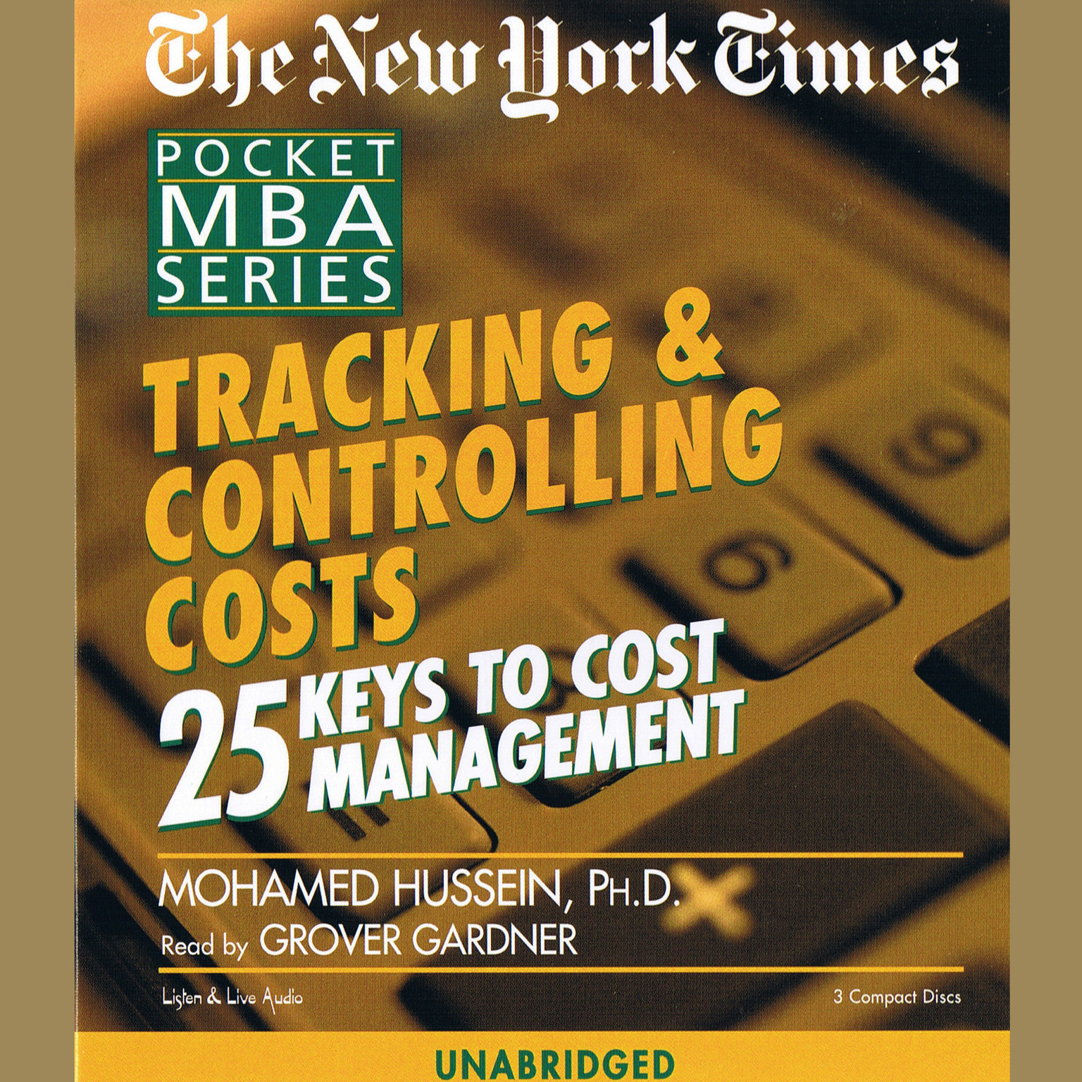 Printable Tracking & Controlling Costs: 25 Keys to Cost Management Audiobook Cover Art