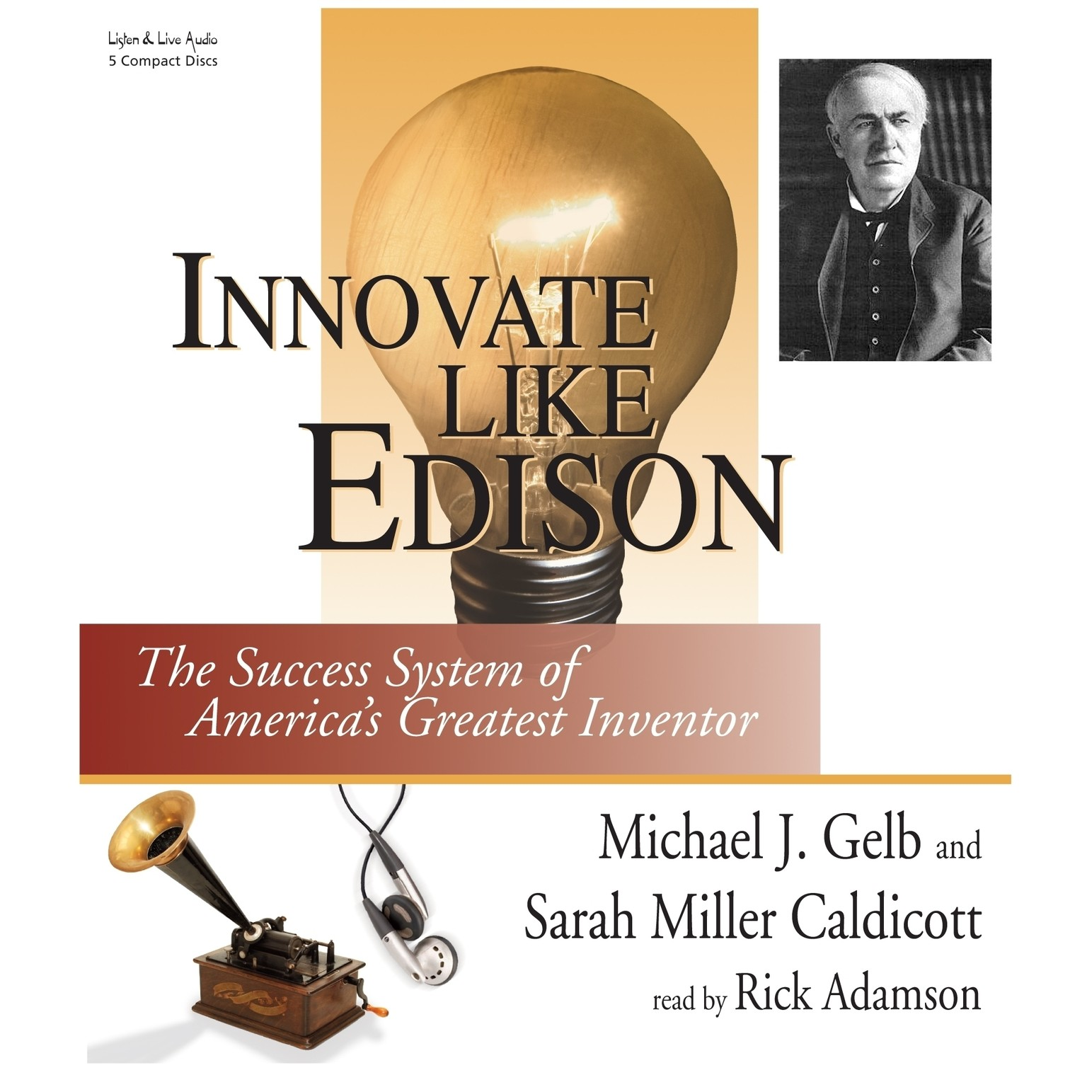 Printable Innovate Like Edison: The Success System of America's Greatest Inventor Audiobook Cover Art