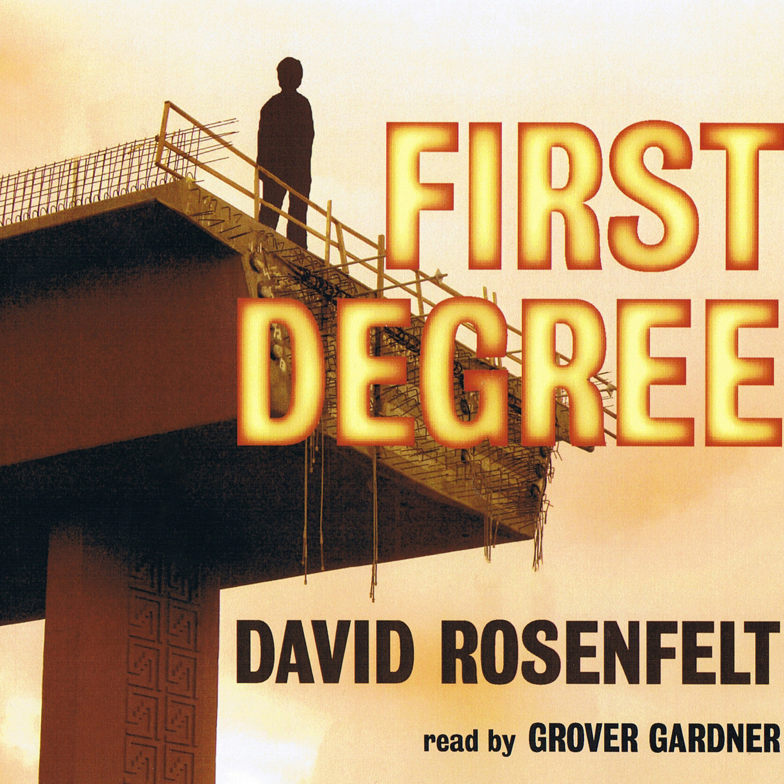 Printable First Degree Audiobook Cover Art