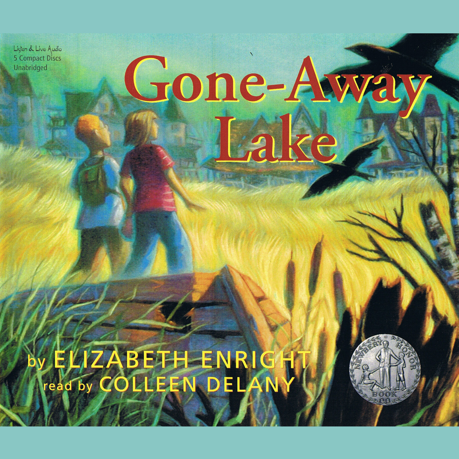Printable Gone-Away Lake Audiobook Cover Art