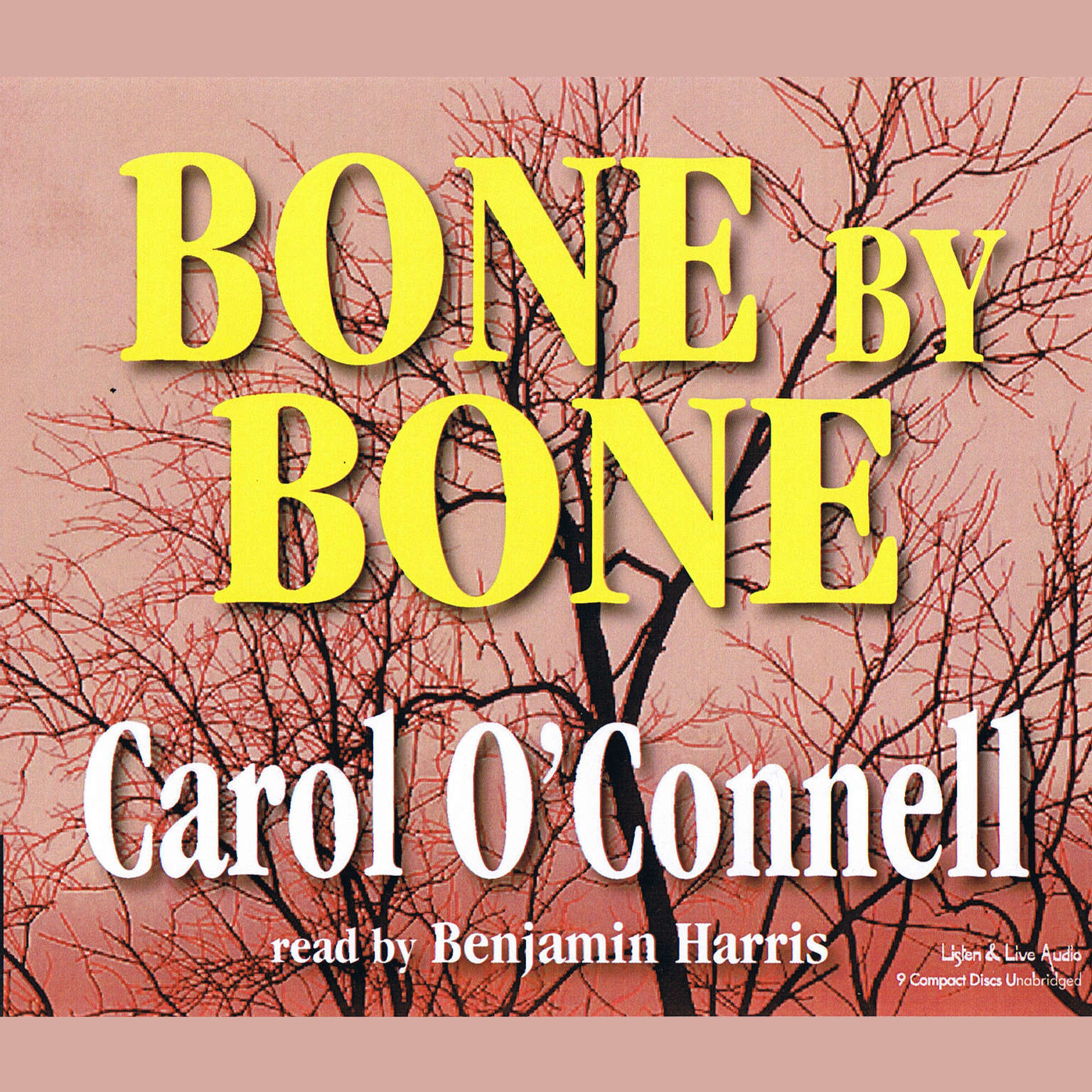 Printable Bone by Bone Audiobook Cover Art