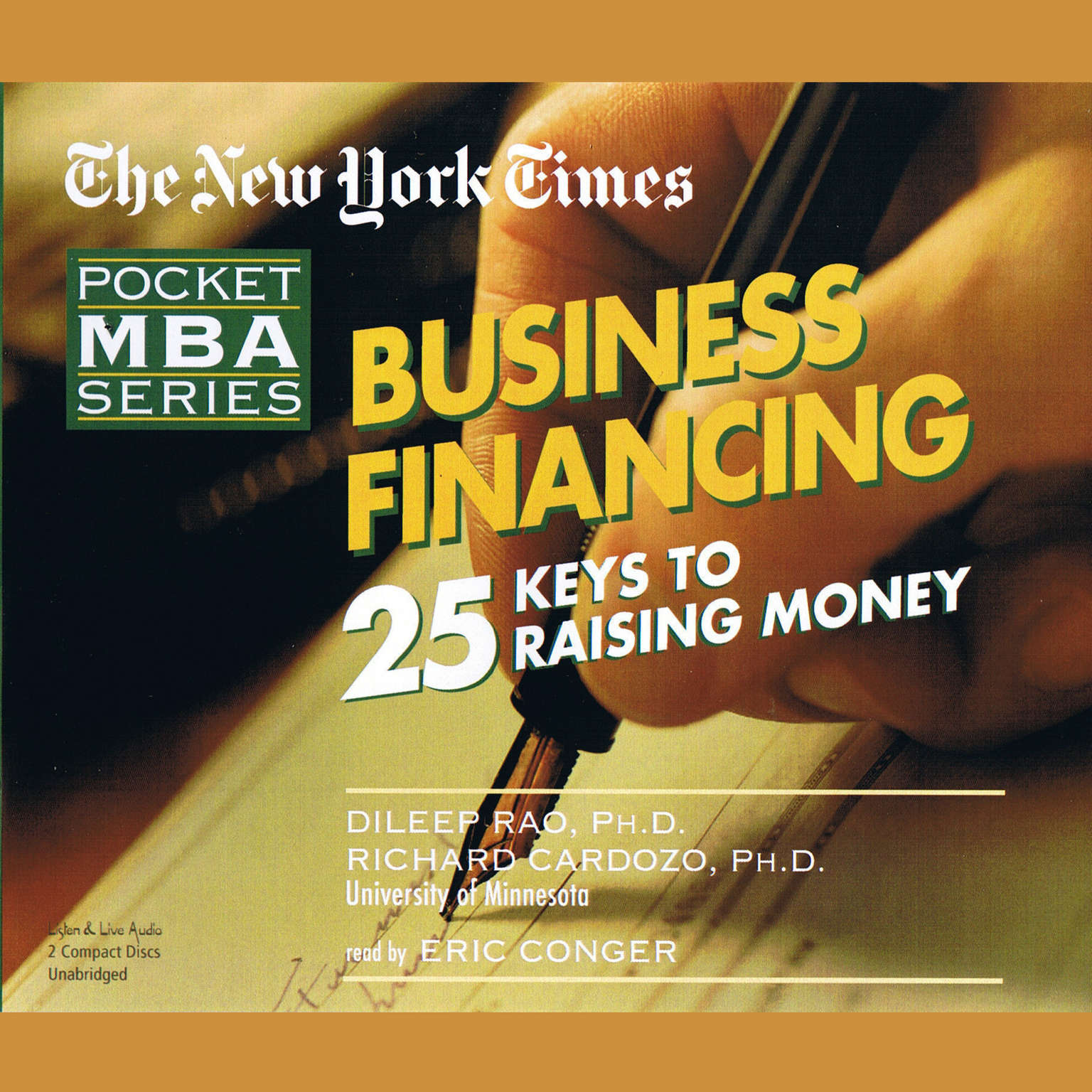Printable Business Financing: 25 Keys to Raising Money Audiobook Cover Art