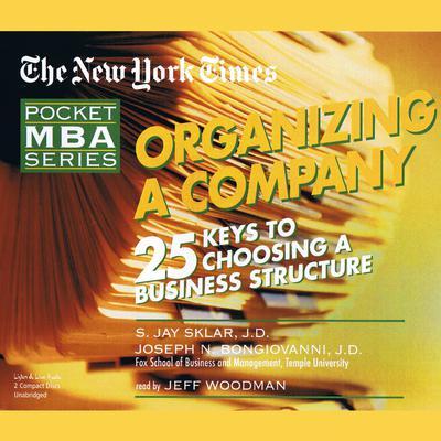 Organizing a Company Audiobook, by S. Jay Sklar